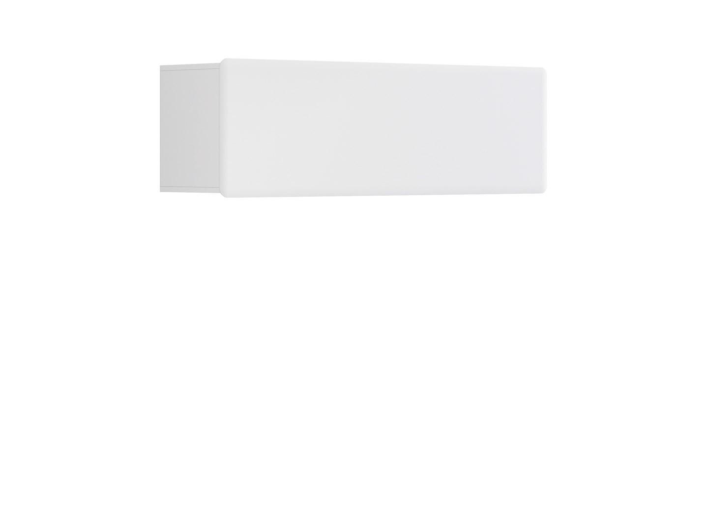 Polička - BRW - Possi Light - SFW1K/4/13 (bílá + lesk bílý)
