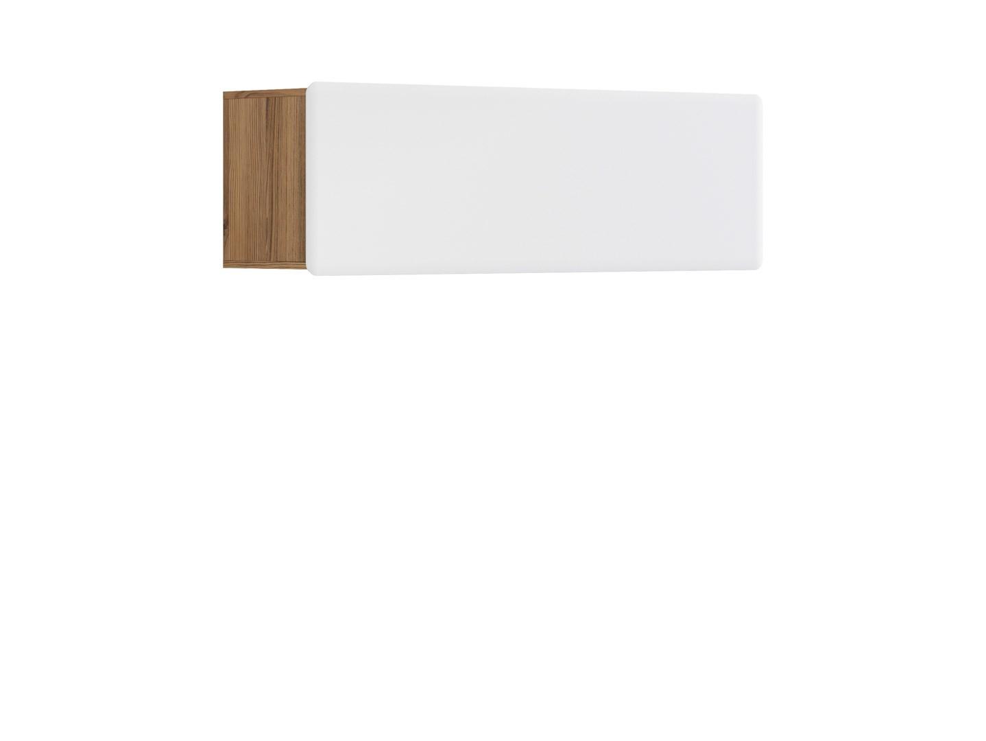 Polička - BRW - Possi Light - SFW1K/4/13 (modřín sibiu zlatý + lesk bílý)