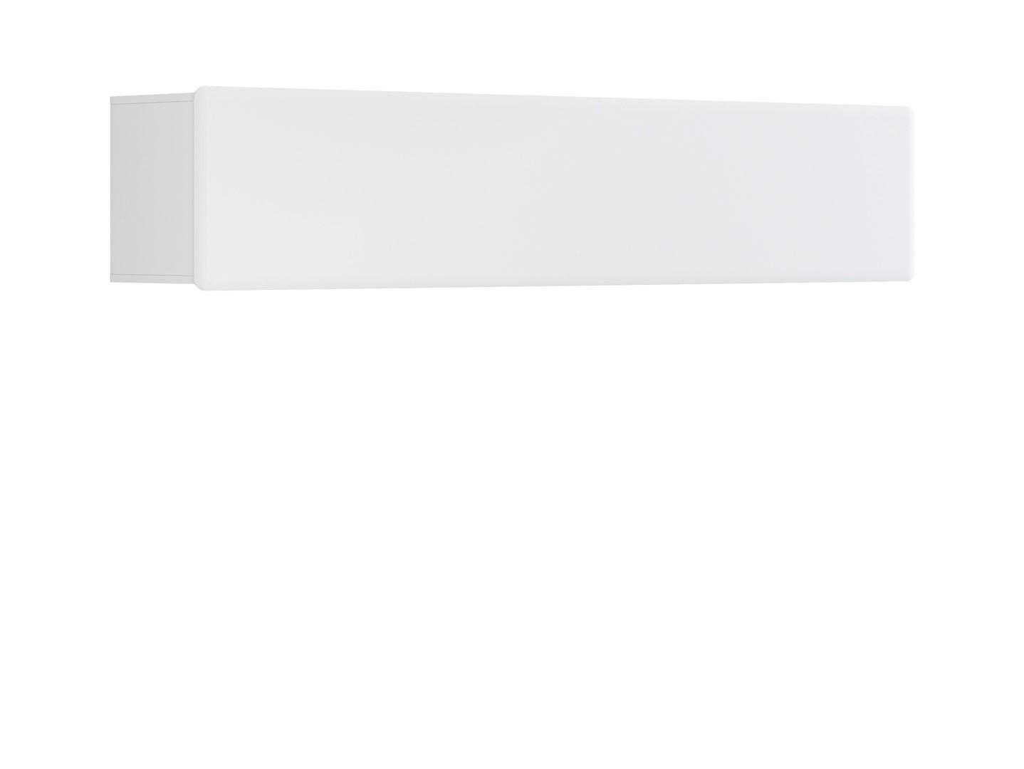 Polička - BRW - Possi Light SFW1K/4/20 (bílá + lesk bílý)