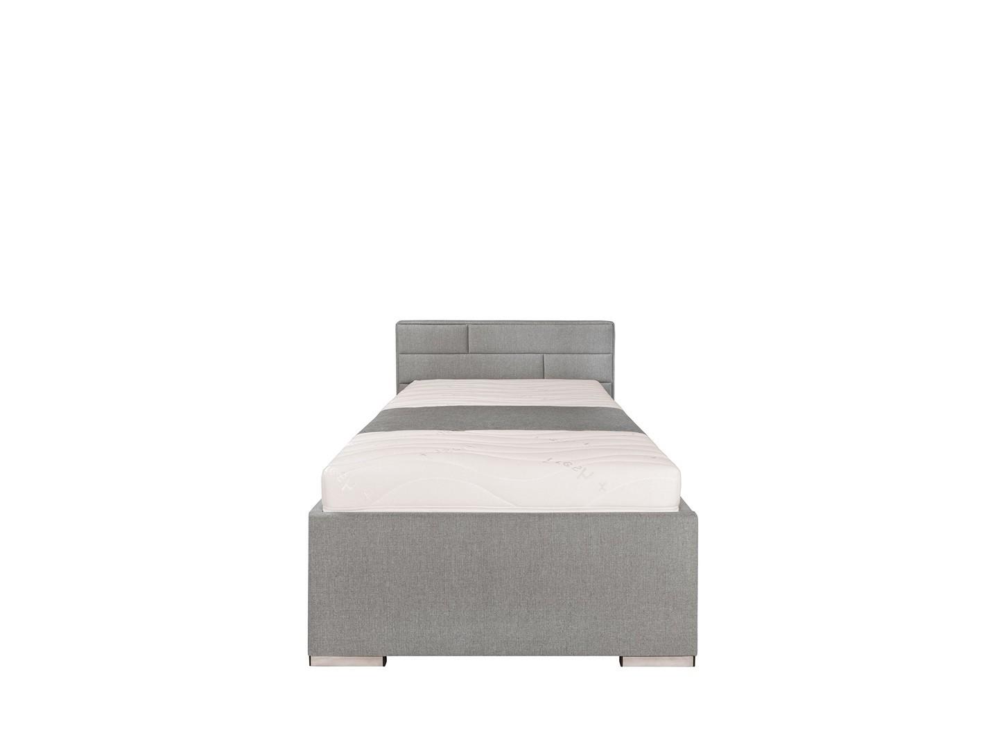 Jednolůžková postel 90 cm - BRW - Kate Futon (šedá)