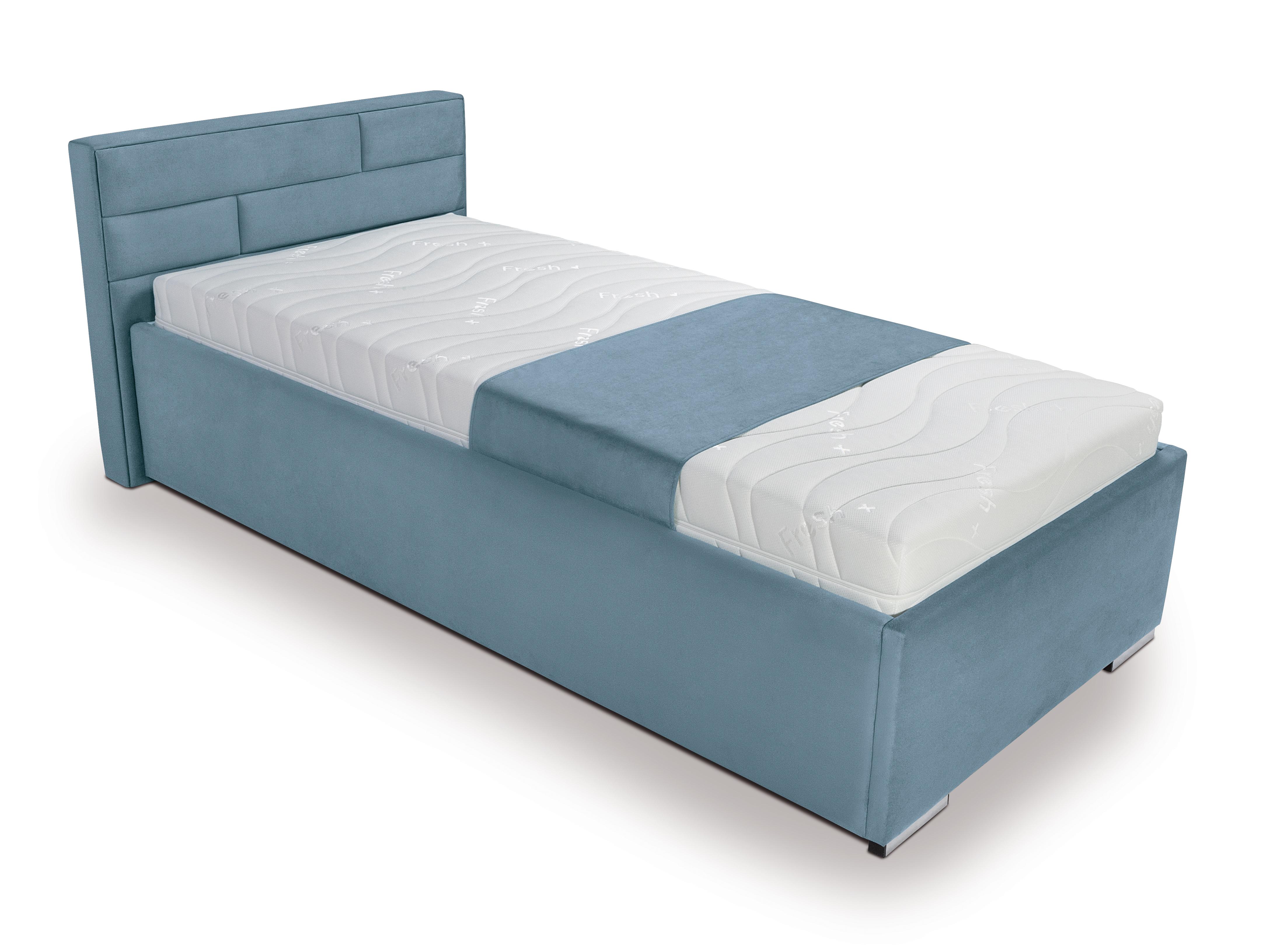 Jednolůžková postel 120 cm - BRW - Kate Futon (tyrkysová)