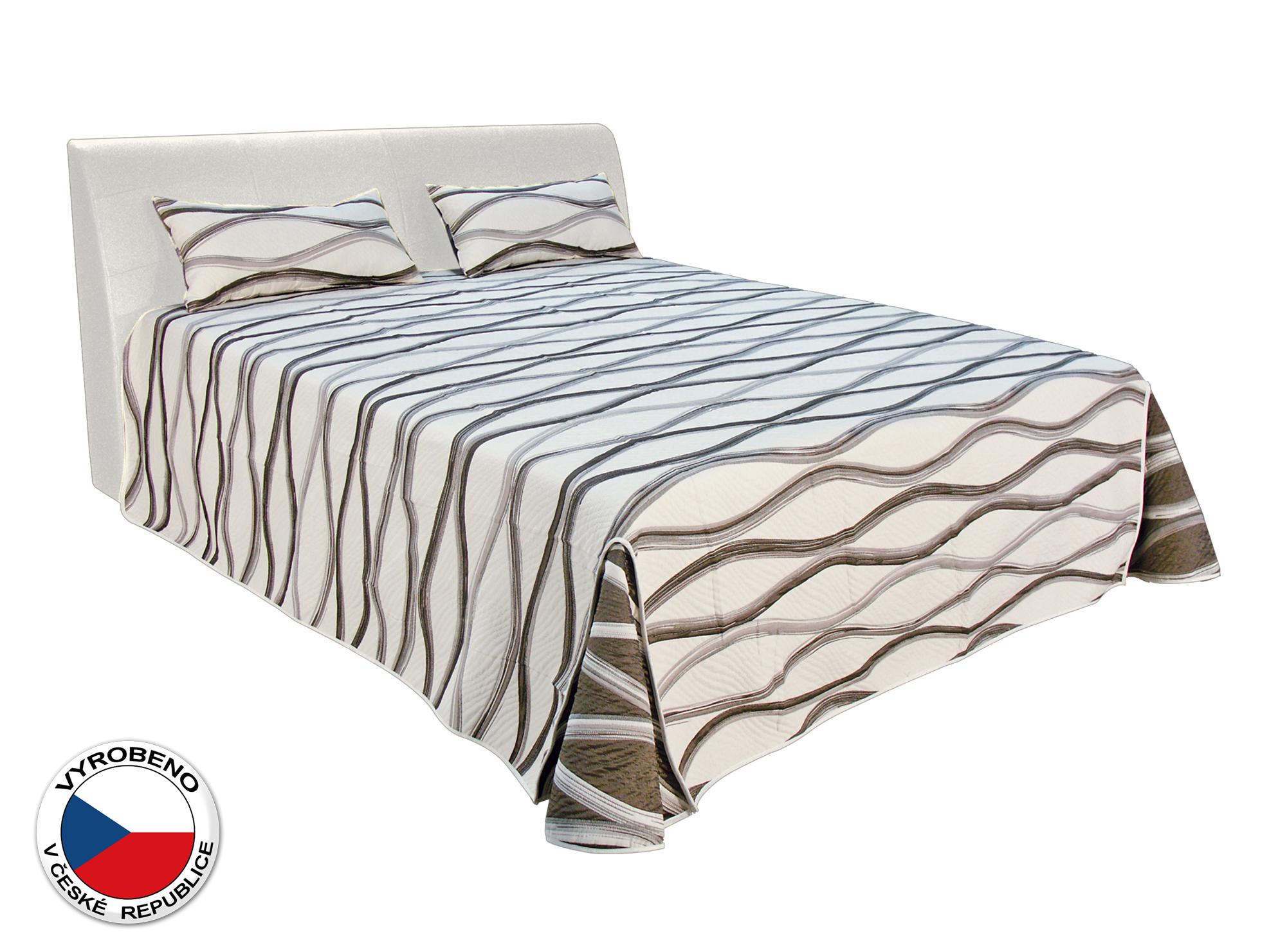 Manželská postel 180 cm - Blanář - Merkur (bílá) (s rošty a matracemi Ivana Plus)
