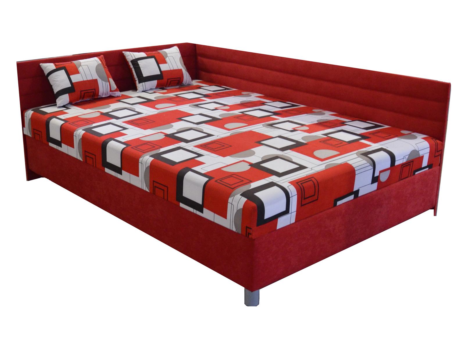 Jednolůžková postel (válenda) 110 cm - BRW - Elize (s roštem a matrací) (L)