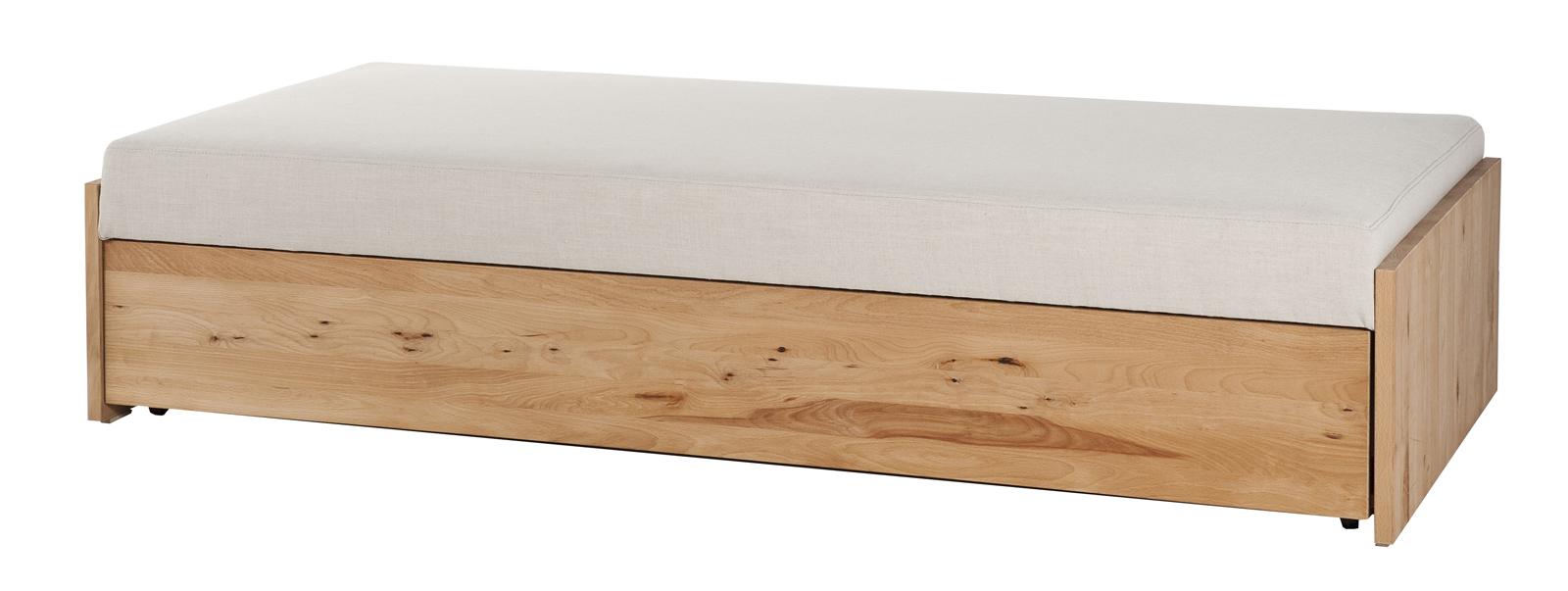 Jednolůžková postel 80 cm - BRW - Malte (masiv) (s roštem a matrací)