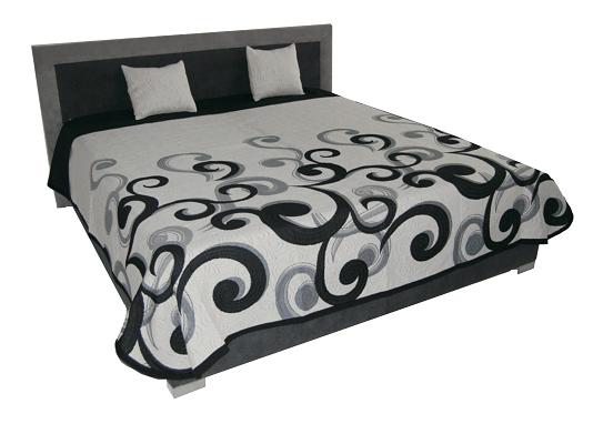 Manželská postel 180 cm - BRW - Atlanta (s rošty a matracemi)