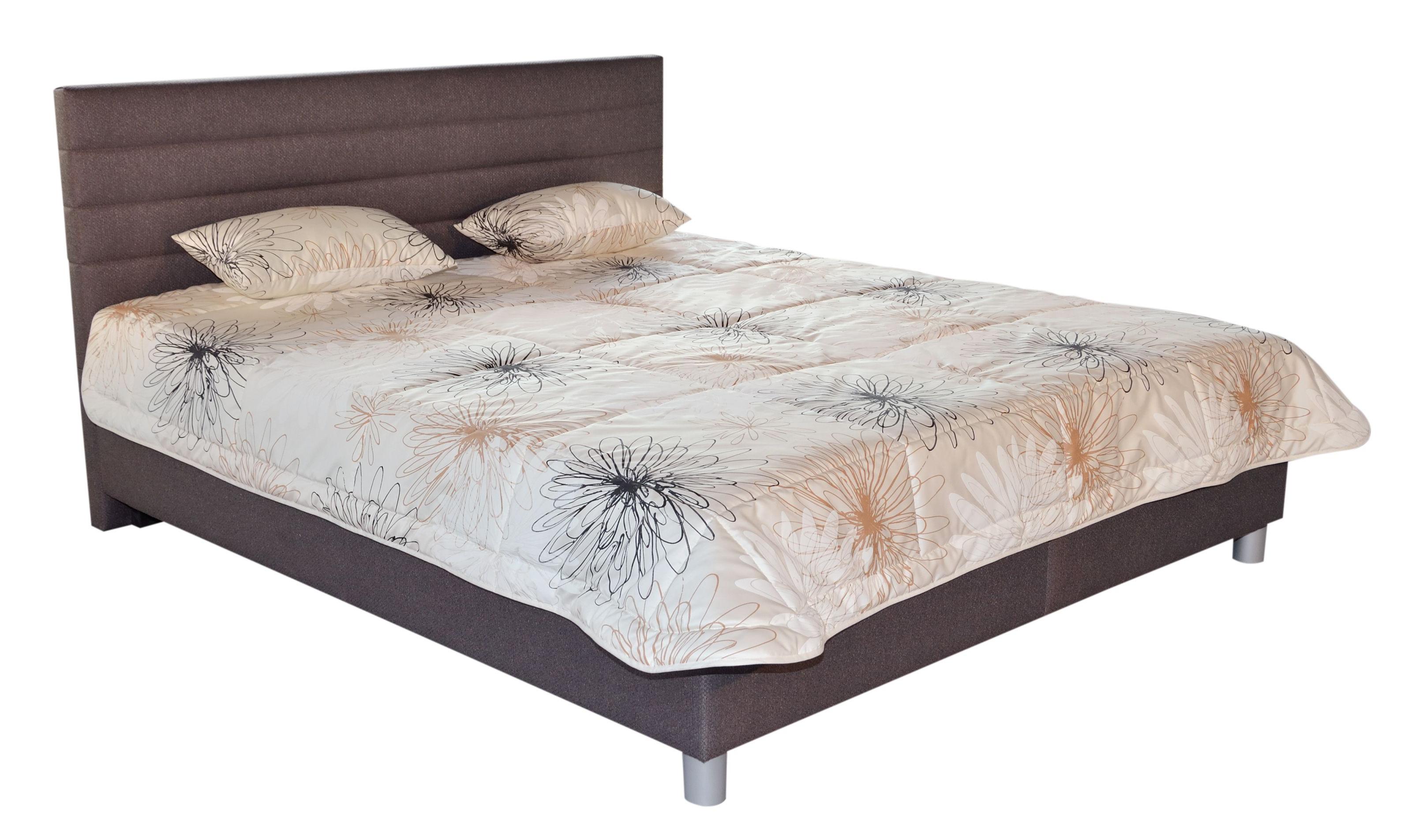 Manželská postel 180 cm - Blanář - Mirka (s rošty a matracemi)