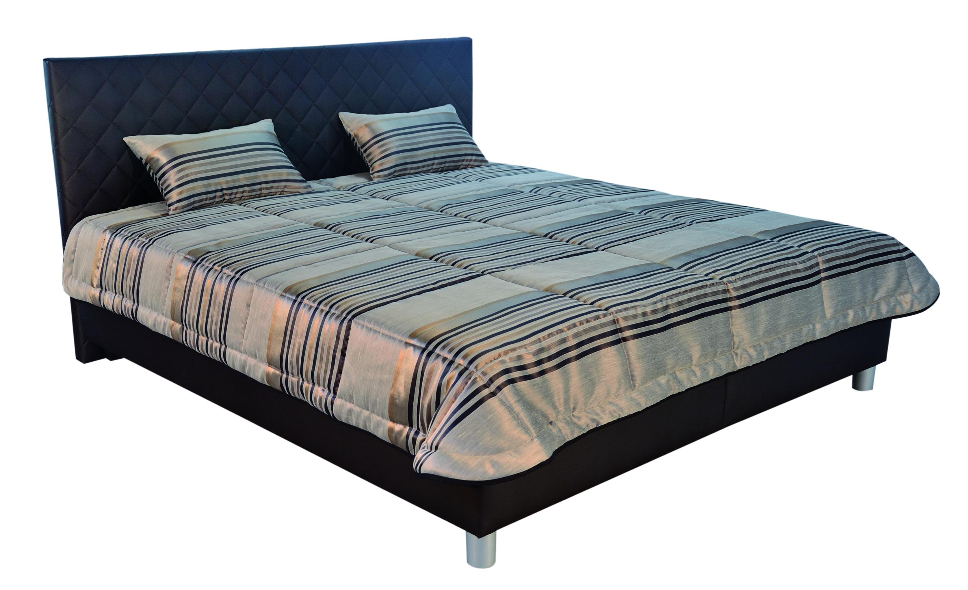 Manželská postel 180 cm - Blanář - Reflex (s rošty a matracemi)