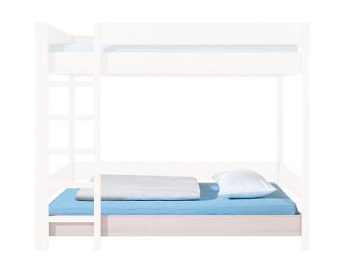 Jednolůžková postel 90 cm - BRW - rupie - LOZ/80/PIETRO/DOL (s matracem a roštem)