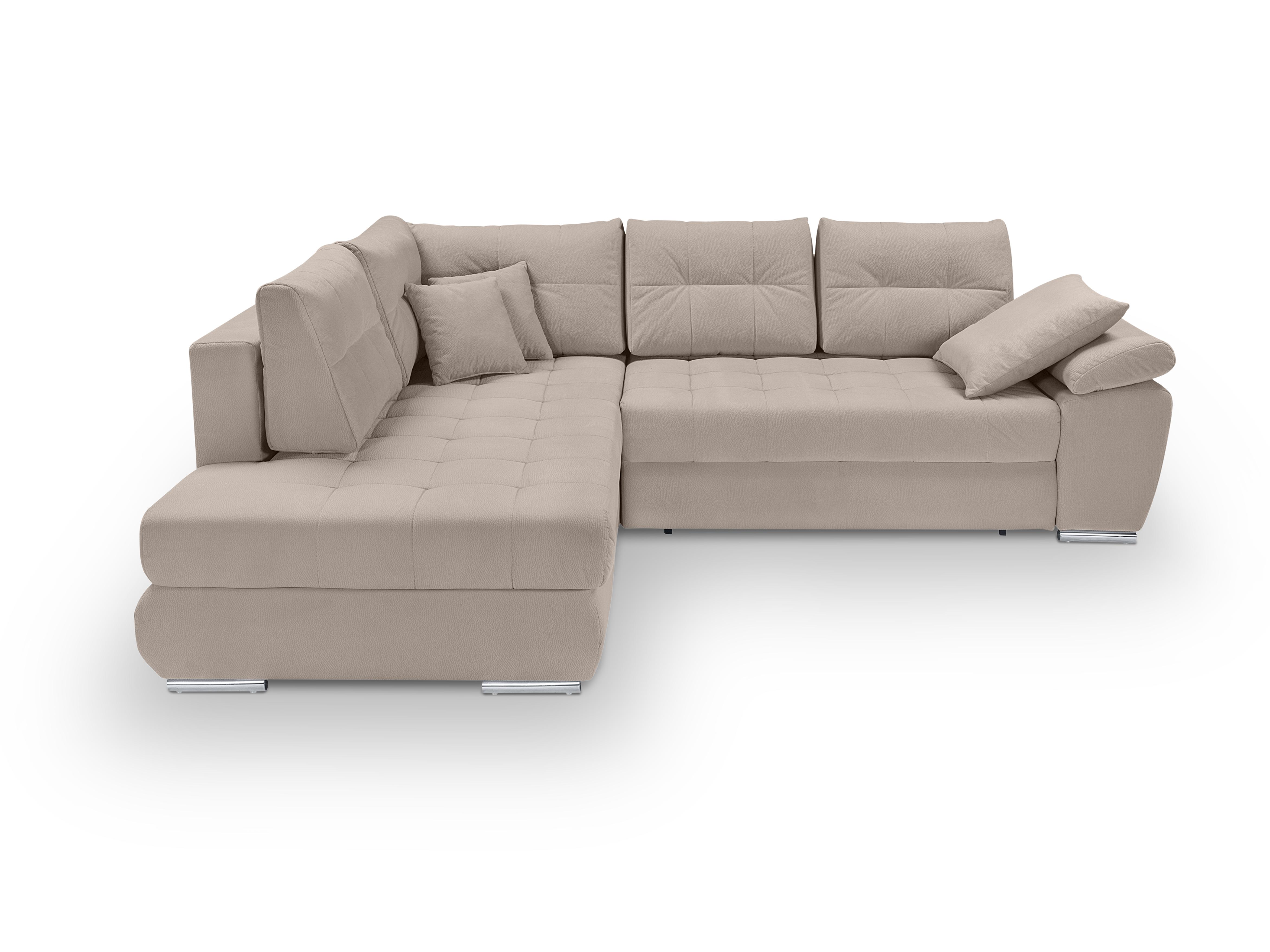Rohová sedací souprava - BRW - Carl Lux 3DL.RECBK (béžová) (L)