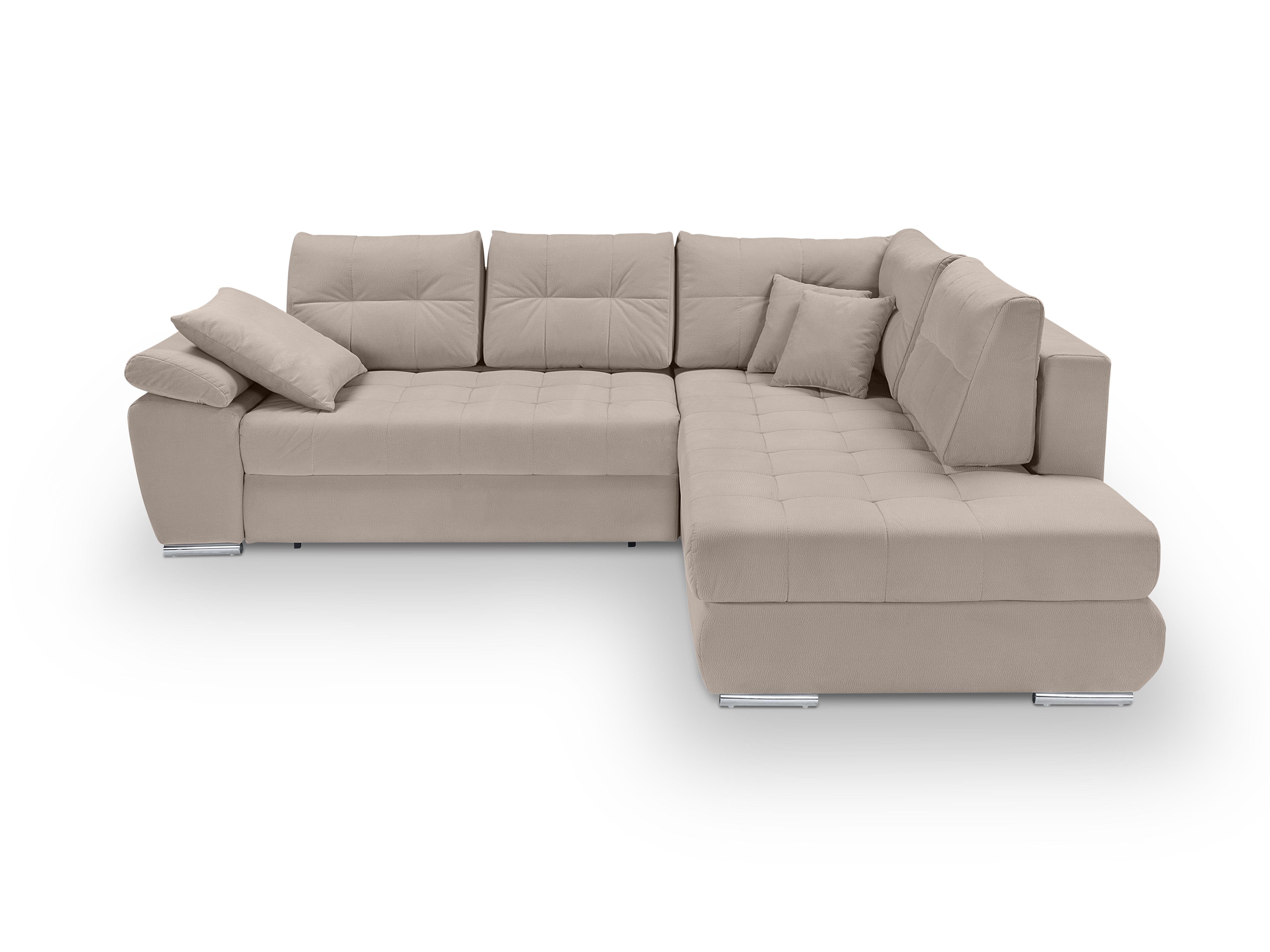 Rohová sedací souprava - BRW - Carl Lux 3DL.RECBK (béžová) (P)