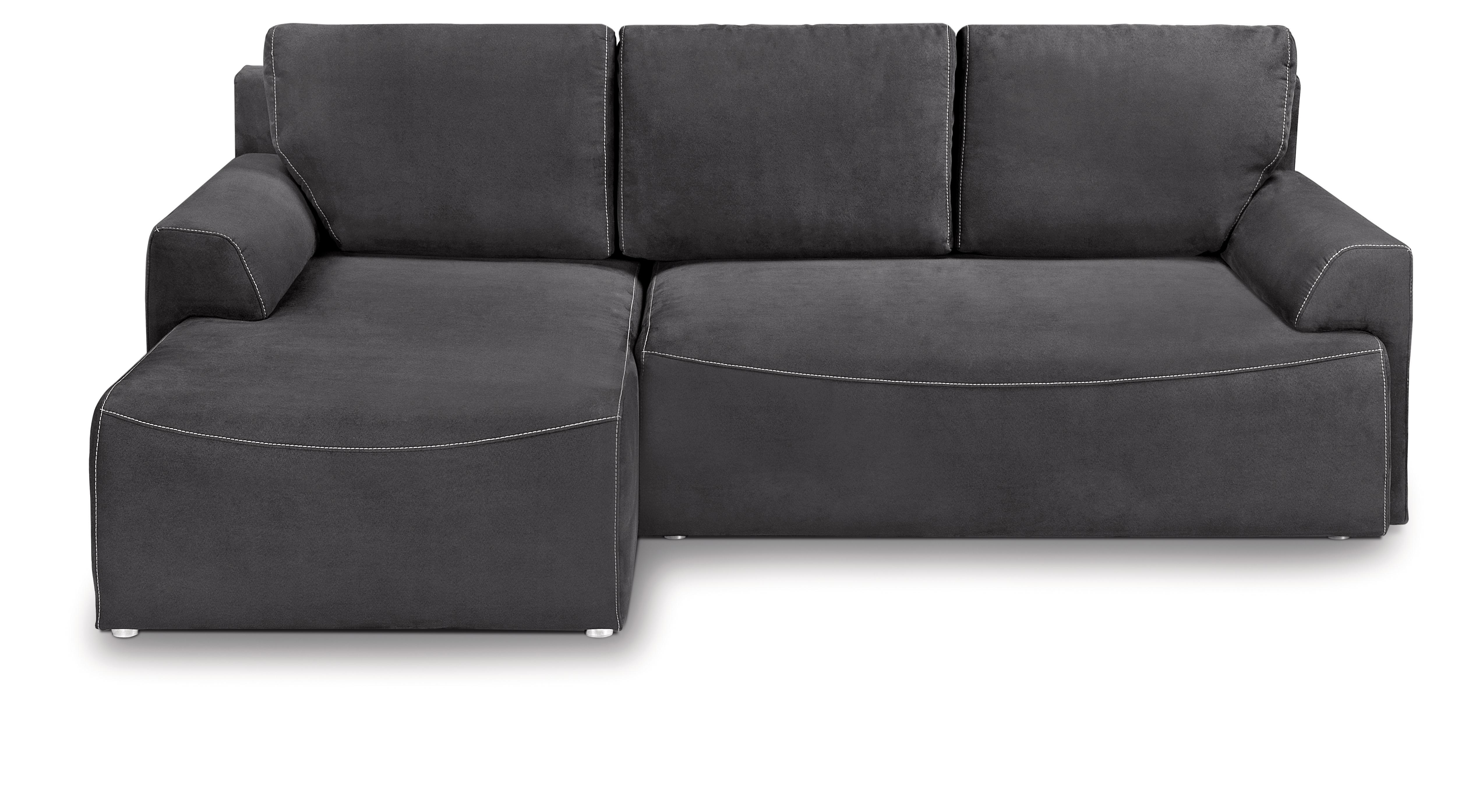 Rohová sedací souprava - BRW - City Lux 3DL URC (šedá) (L)