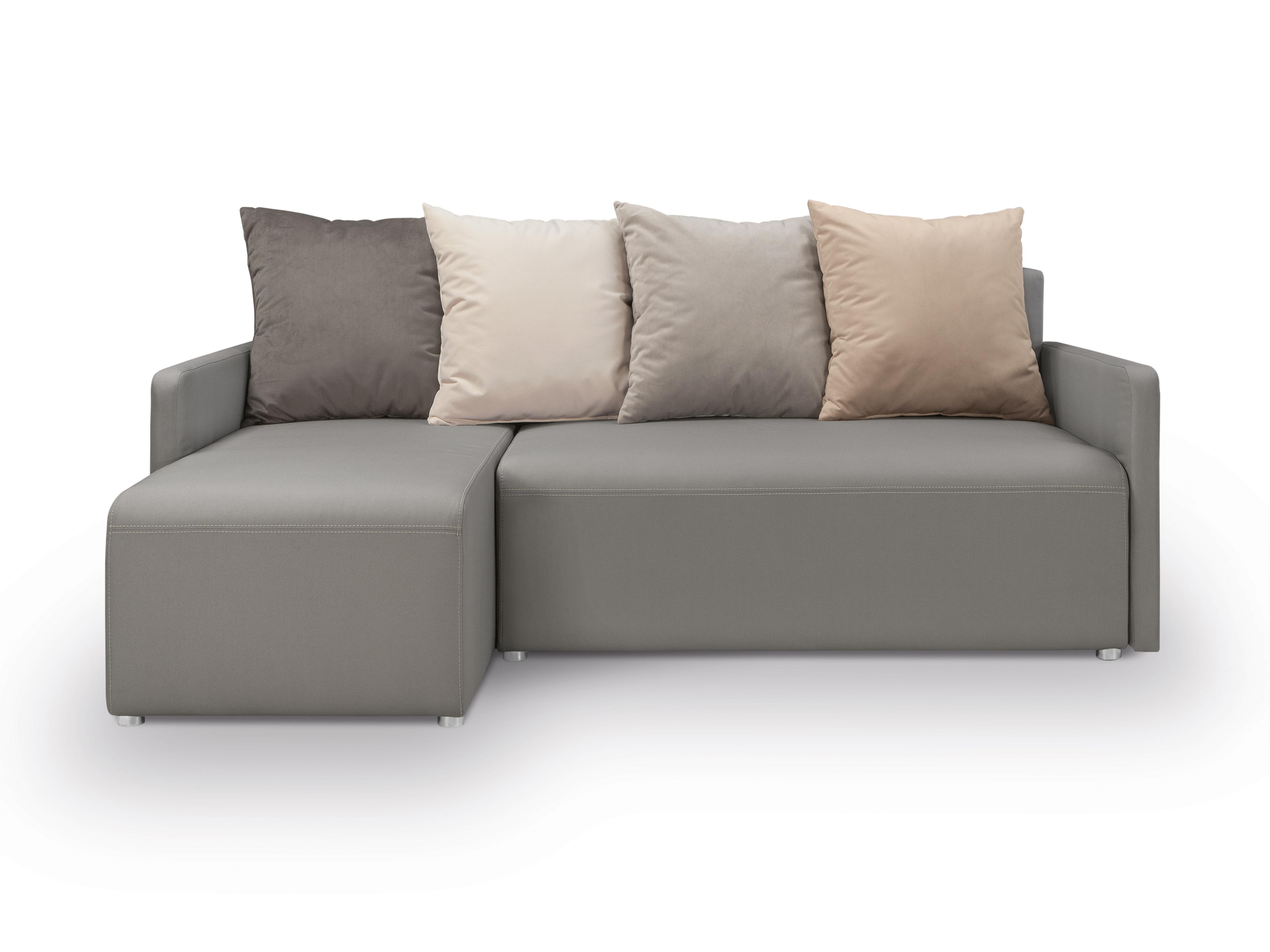 Rohová sedací souprava - BRW - Dany Lux 3DL.URC (šedá) (L)