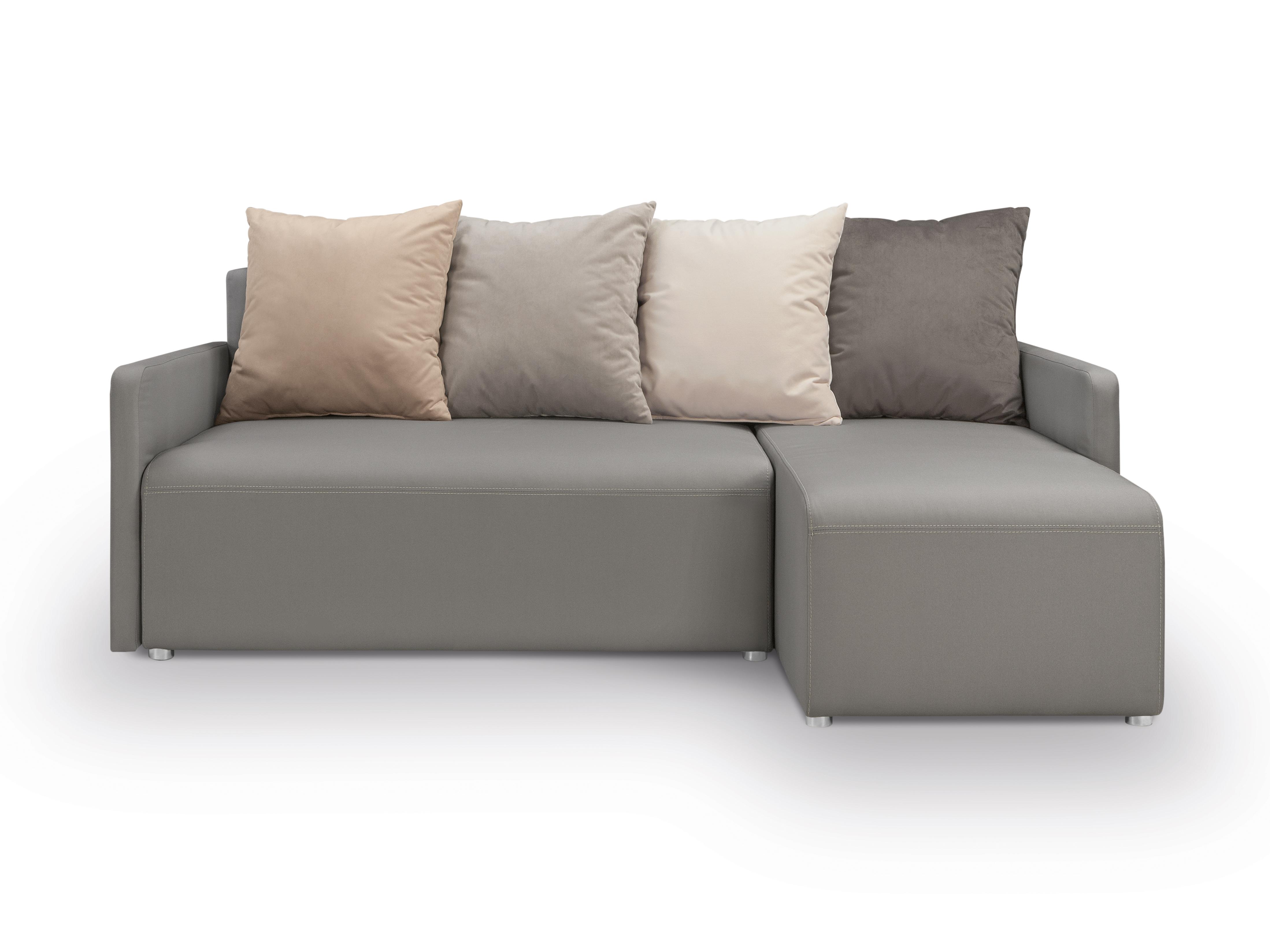 Rohová sedací souprava - BRW - Dany Lux 3DL URC (šedá) (P)