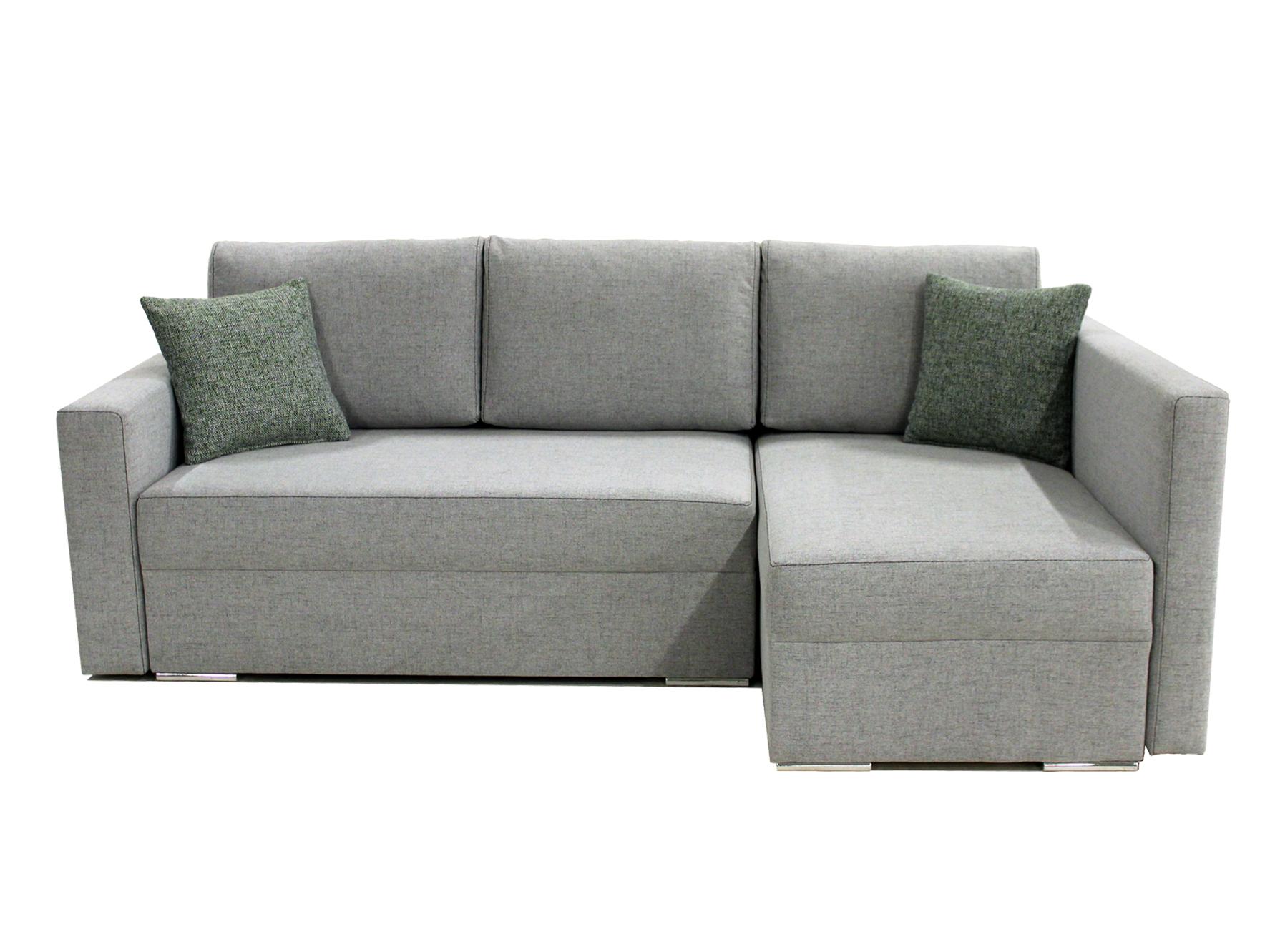 Rohová sedací souprava - BRW - Kris Lux 3DL URC (šedá) (P)