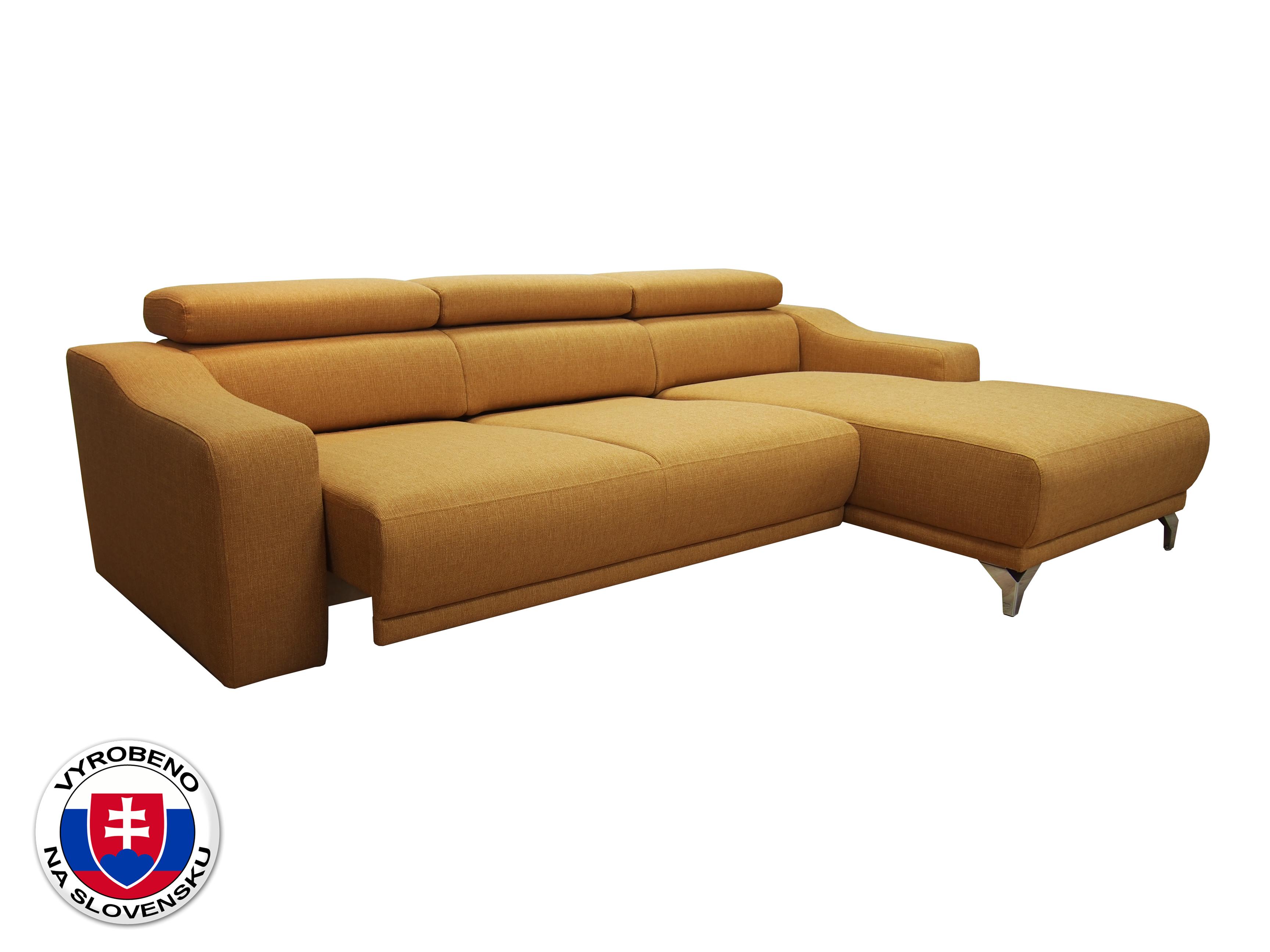 Rohová sedací souprava - BRW - Maya (žlutá) (P)
