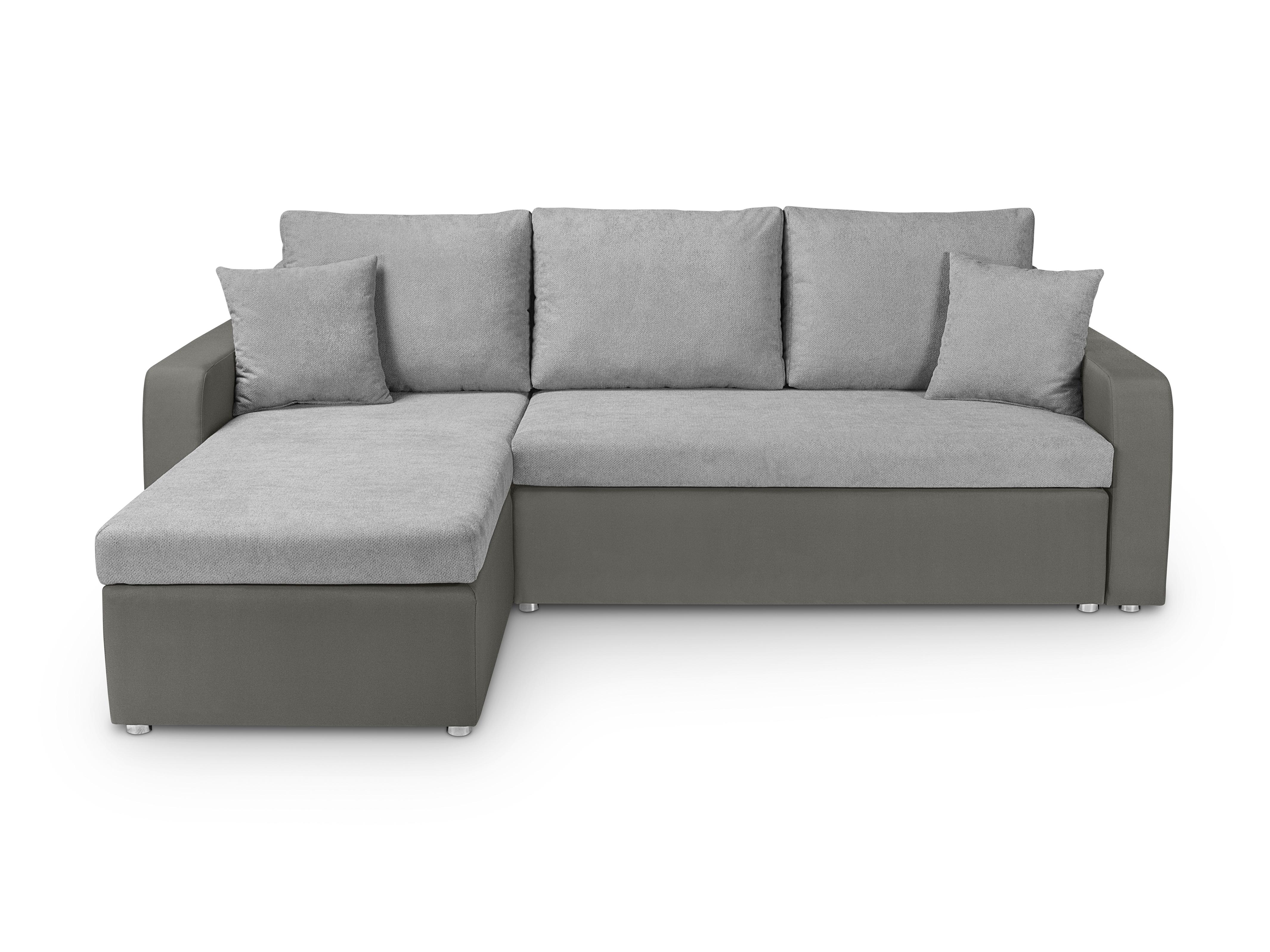 Rohová sedací souprava - BRW - Molly Lux 3DL.URC (šedá) (L)