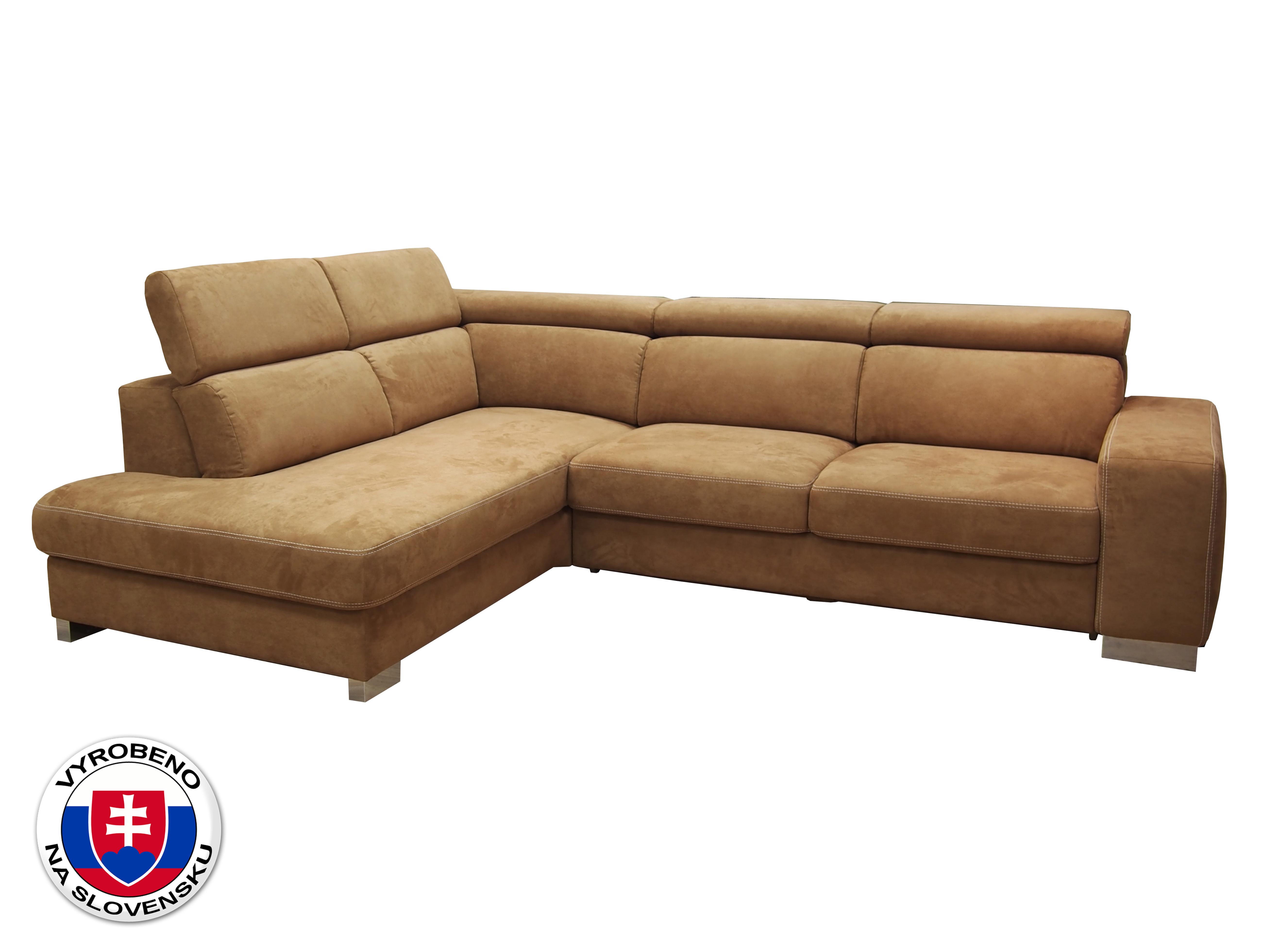 Rohová sedačka - BRW - Mondo II (oranžová) (L)