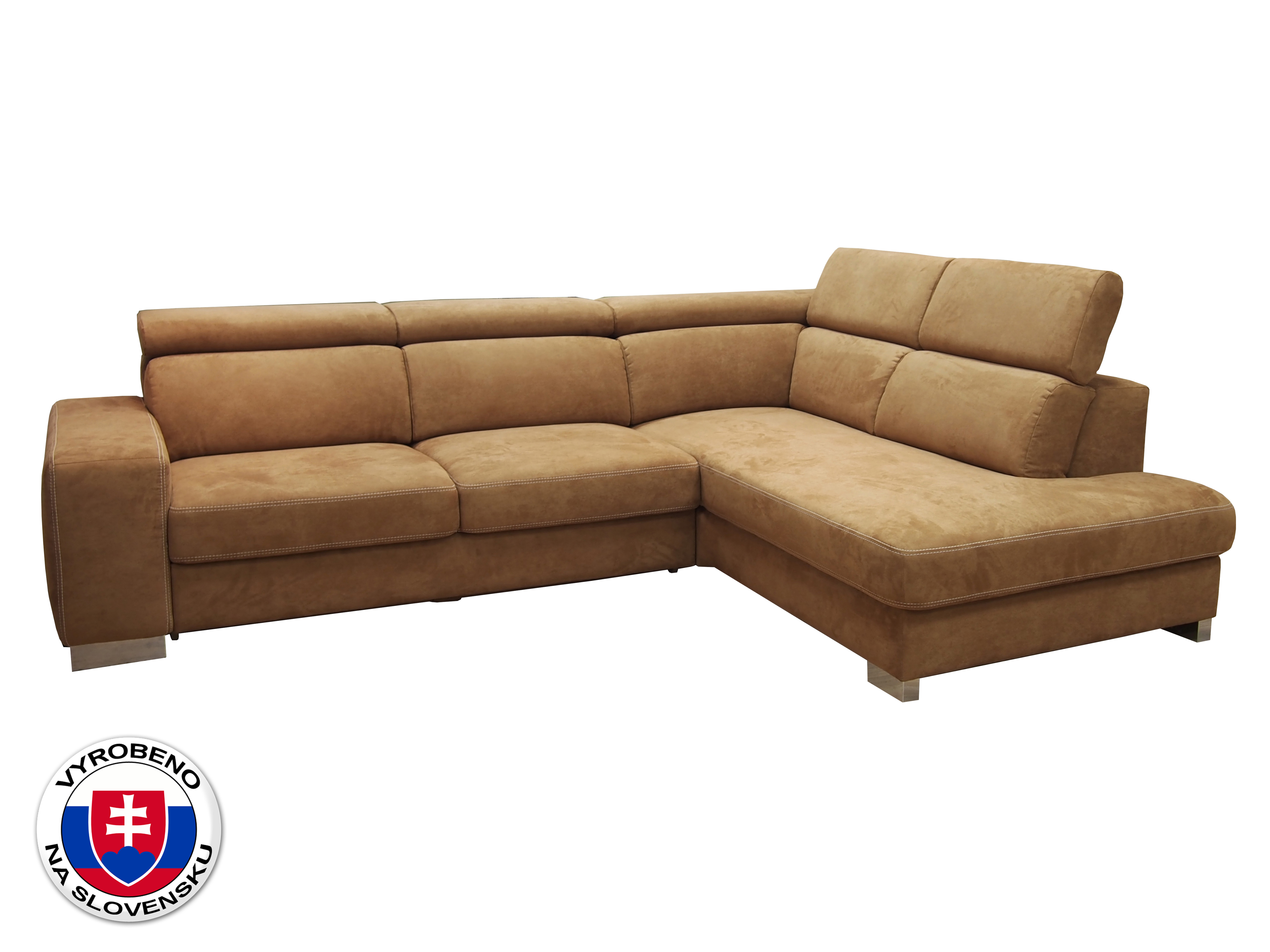 Rohová sedačka - BRW - Mondo II (oranžová) (P)