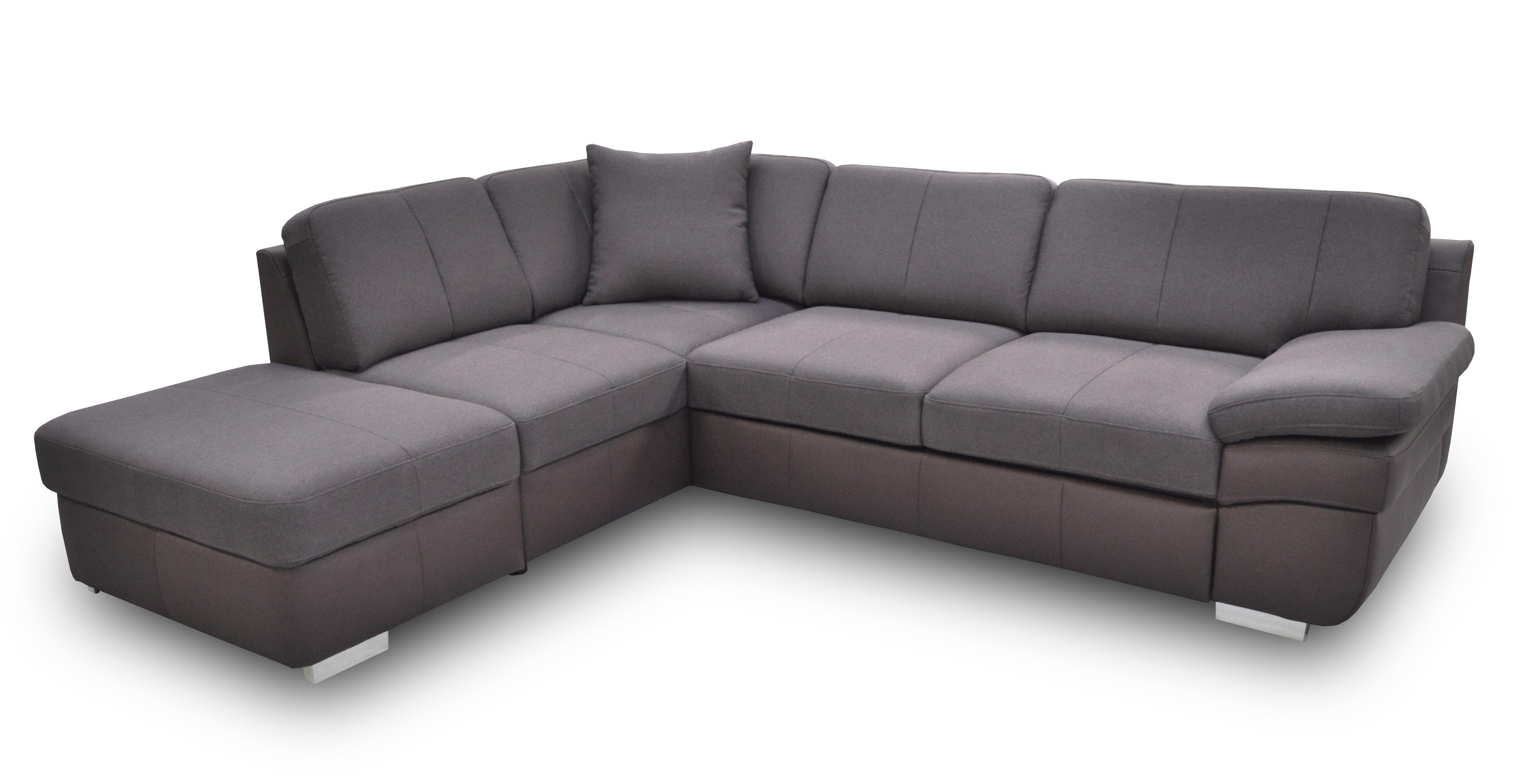 Rohová sedací souprava - BRW - Mon 1 (hnědá) (P)
