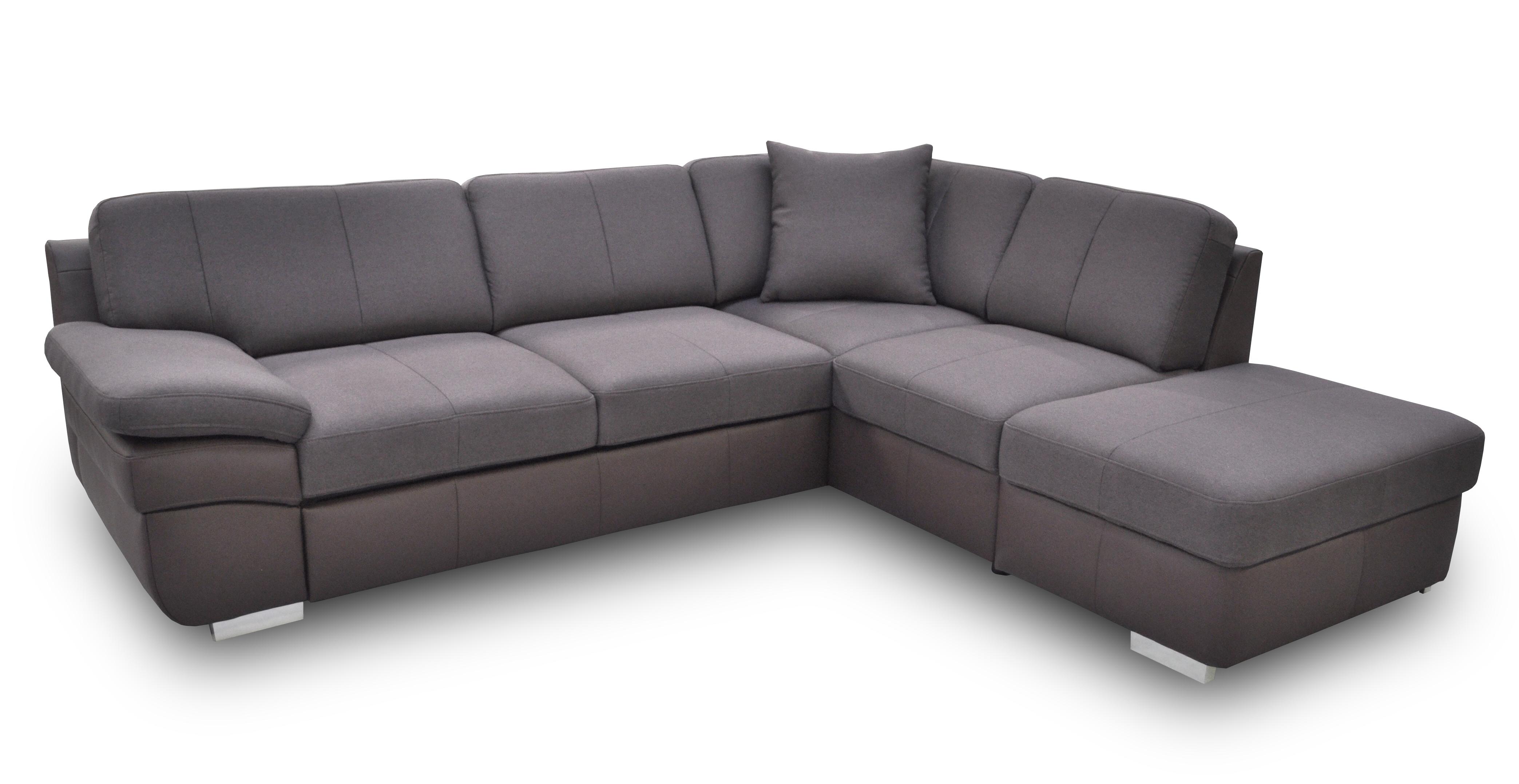 Rohová sedací souprava - BRW - Mon 1 (hnědá) (L)
