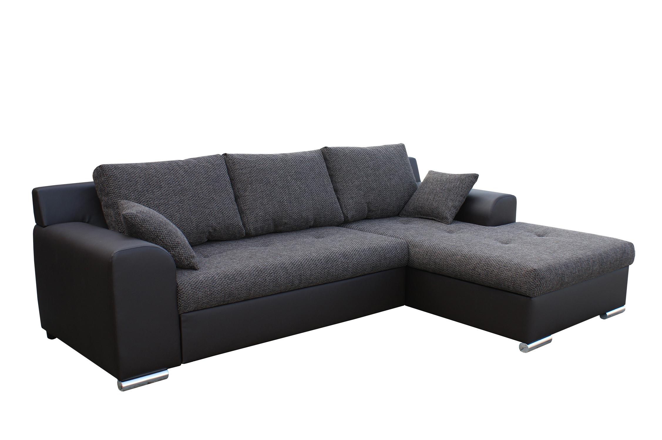 Rohová sedací souprava - BRW - Olimp L (hnědá) (P)