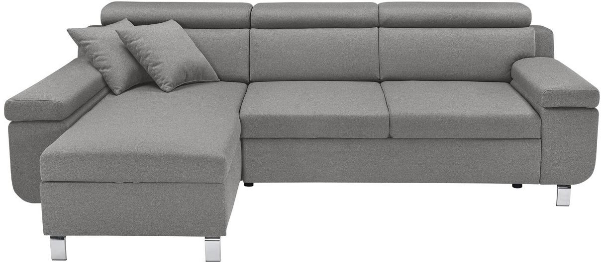 Rohová sedací souprava - BRW - Remi RECBK.2F (šedá) (L)