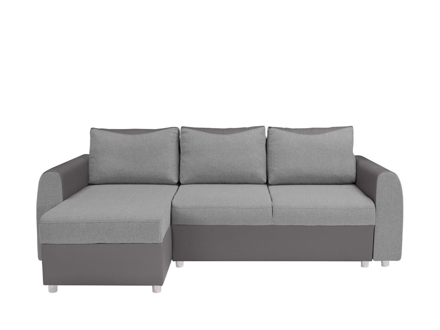 Rohová sedací souprava - BRW - Jette LUX 3DL.URCBK (šedá) (L)