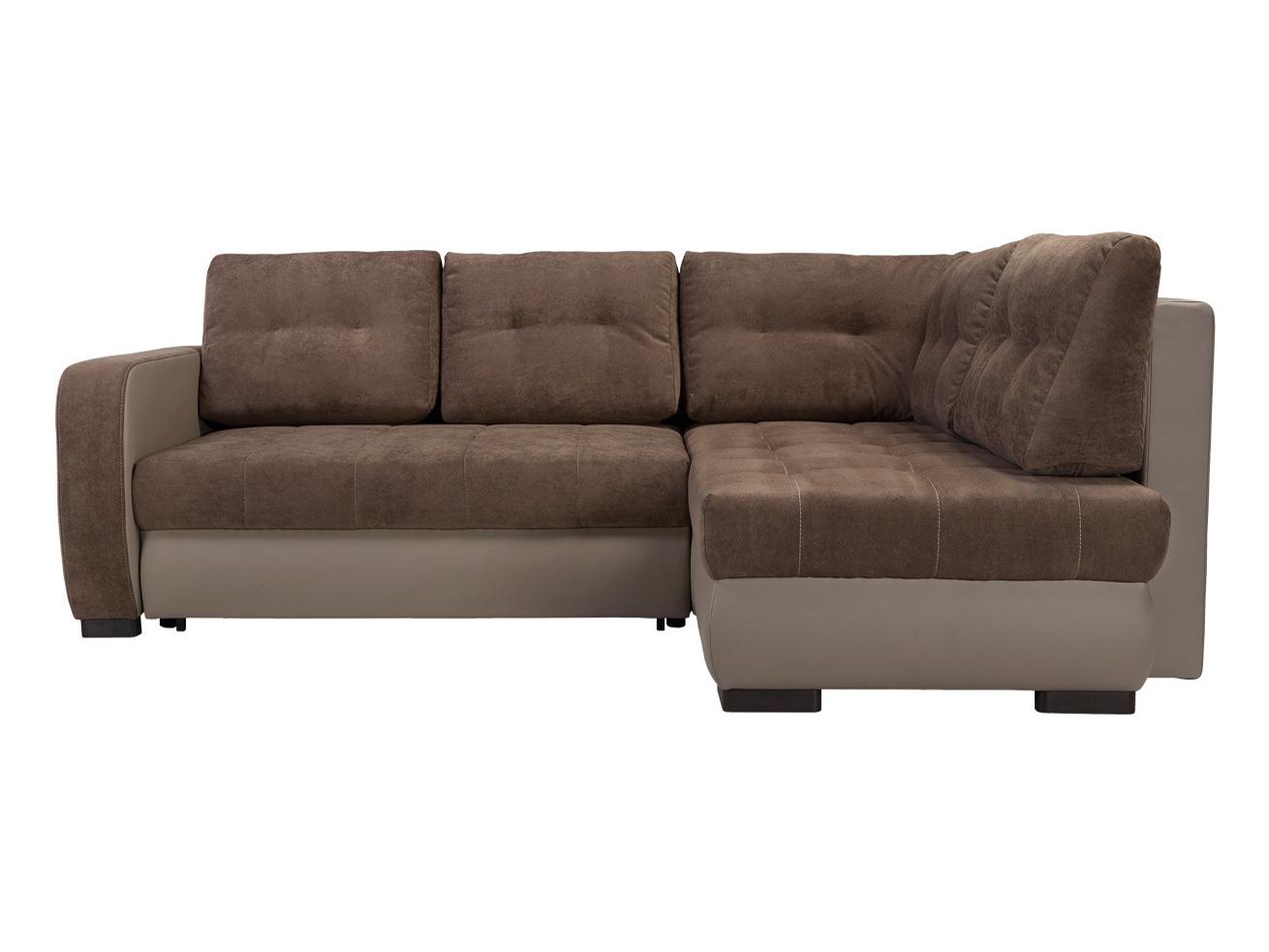 Rohová sedací souprava - BRW - Brad Lux 3DL.RECMU hnědá (P)