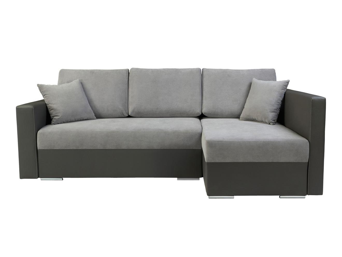 Rohová sedací souprava - BRW - Kris Lux 3DL.URC šedá (P)