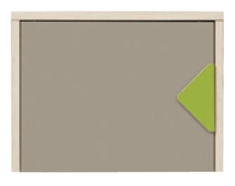 Skříňka na stěnu - BRW - Strzalka - SFW1D/5/6