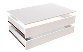 Zásuvky do skříně - BRW - Wektra - SZU/100 (2 ks.)