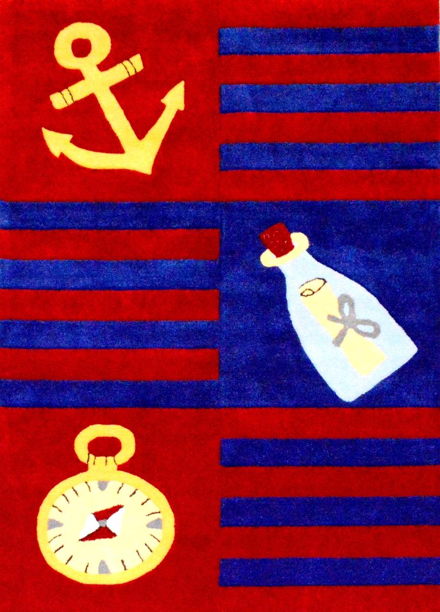 Ručně všívaný koberec (tuftovaný) - Bakero - Kids Navy