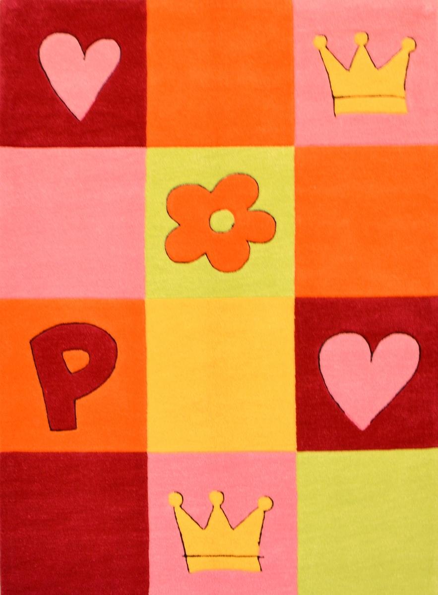 Ručně všívaný koberec (tuftovaný) - Bakero - Kids Square Multi