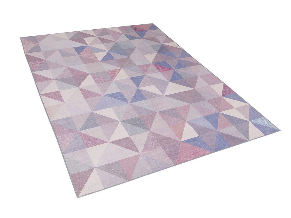 Koberec 160x230 cm - KARTALY (polyester) (modrá)