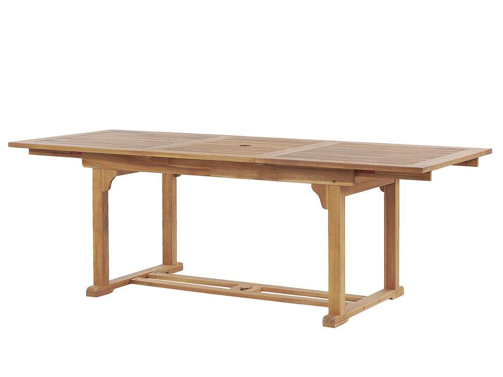 Rozkládací zahradní stůl - JAMBA (pro 6 až 8 osob)