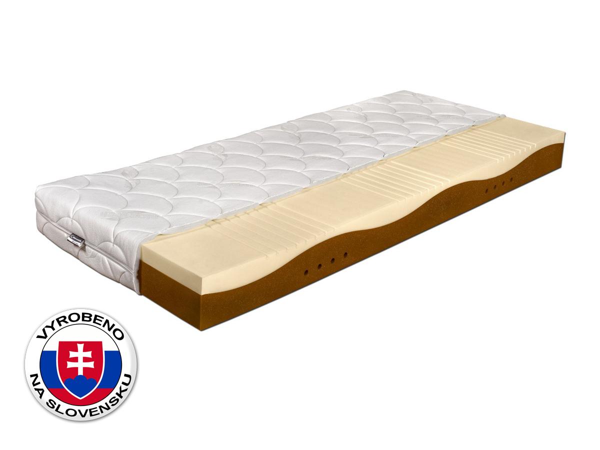Pěnová matrace - Benab - Gold Memory Soja - 200x90 cm (T2/T4). Vzdušná, zdravotní sendvičová matrace s obsahem vysoce elastické paměťové pěny (líné pěny), pro maximálně ortopedické účinky a pohodlí, vyrobená na Slovensku.