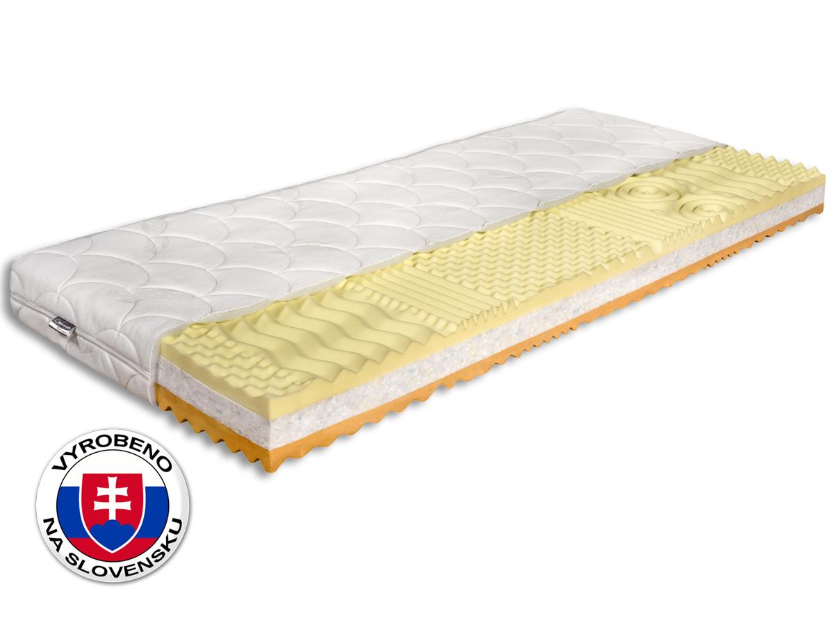 Pěnová matrace - Benab - Memory Premium - 200x80 cm (T3/T4). Oblíbená, vzdušná, zdravotní sendvičová matrace s obsahem vysoce elastické paměťové pěny (líné pěny), pro maximálně ortopedické účinky a pohodlí.