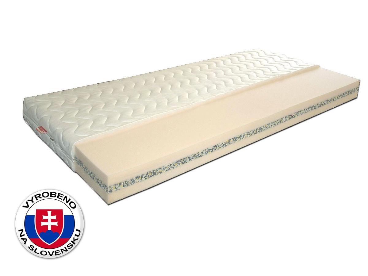 Pěnová matrace - Benab - Poe Pena - 200x90 cm (T3). Oblíbená, vzdušná, zdravotní sendvičová matrace s obsahem dvou kvalitních pěna FLEX - PUR, spojených POE pěnou, pro maximální ortopedické účinky a pohodlí.