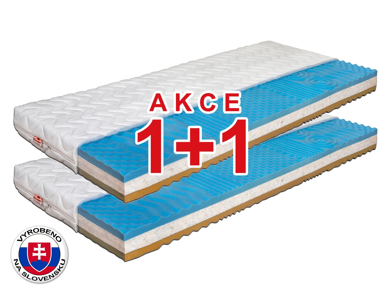 Pěnová matrace - Benab - Dream Optimal 2.0 - 200x80 cm (T4/T5) *AKCE 1+1. Antibakteriální, oboustranná slovenská matrace pro náročné v akci (1 + 1), se 7-zónovou profilací kvalitní PUR pěny, s certifikátem OEKO-TEX.