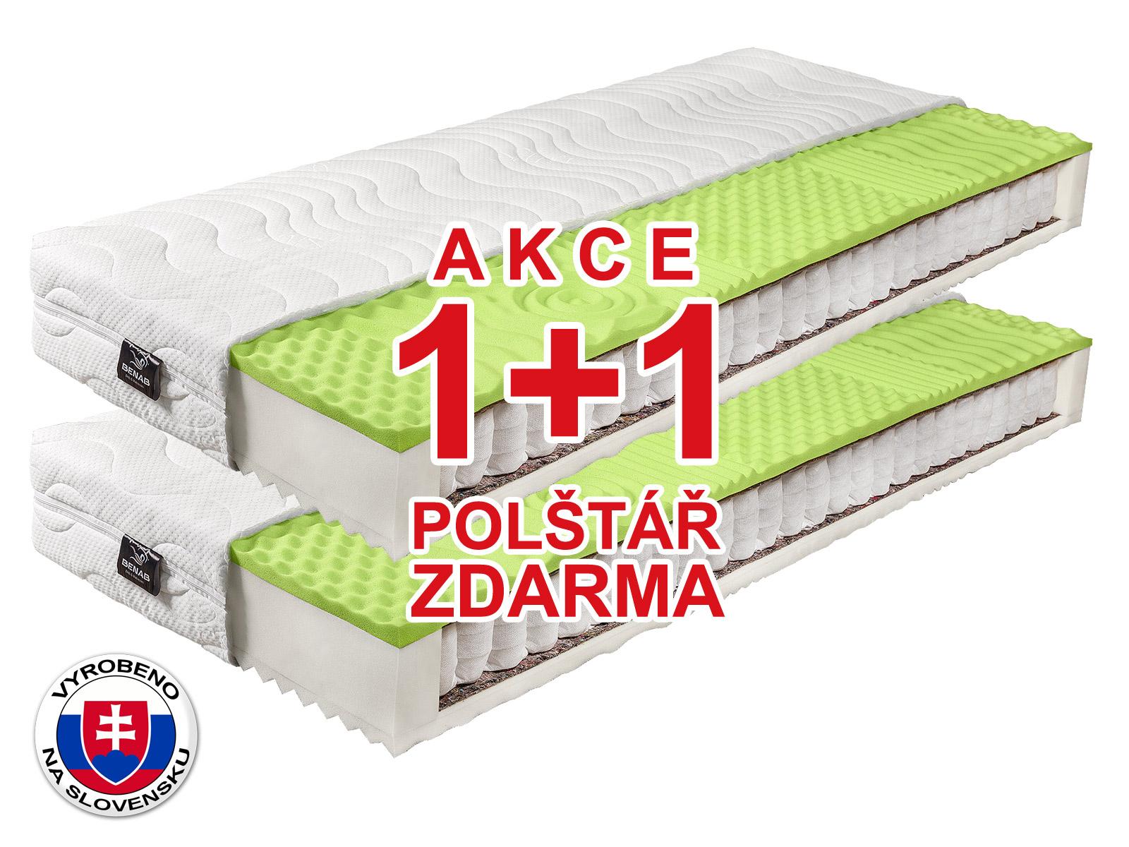 Taštičková matrace - Benab - Ergomax - 200x80 cm (T3/T4) *AKCE 1+1