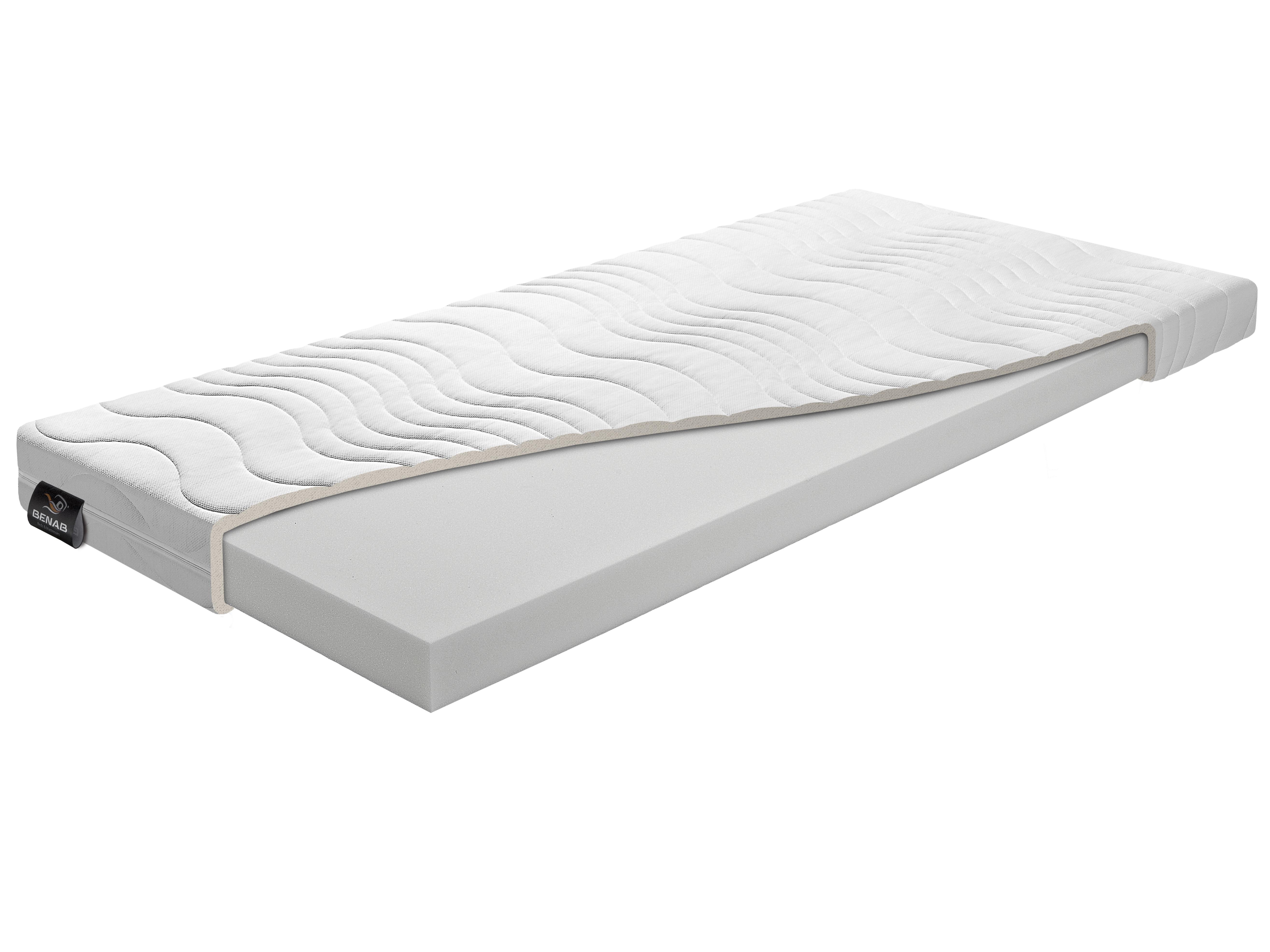 Pěnová matrace - Benab - Simple Pur - Atypický rozměr (cena za 1 m2) (T3). Oblíbená, vzdušná, zdravo