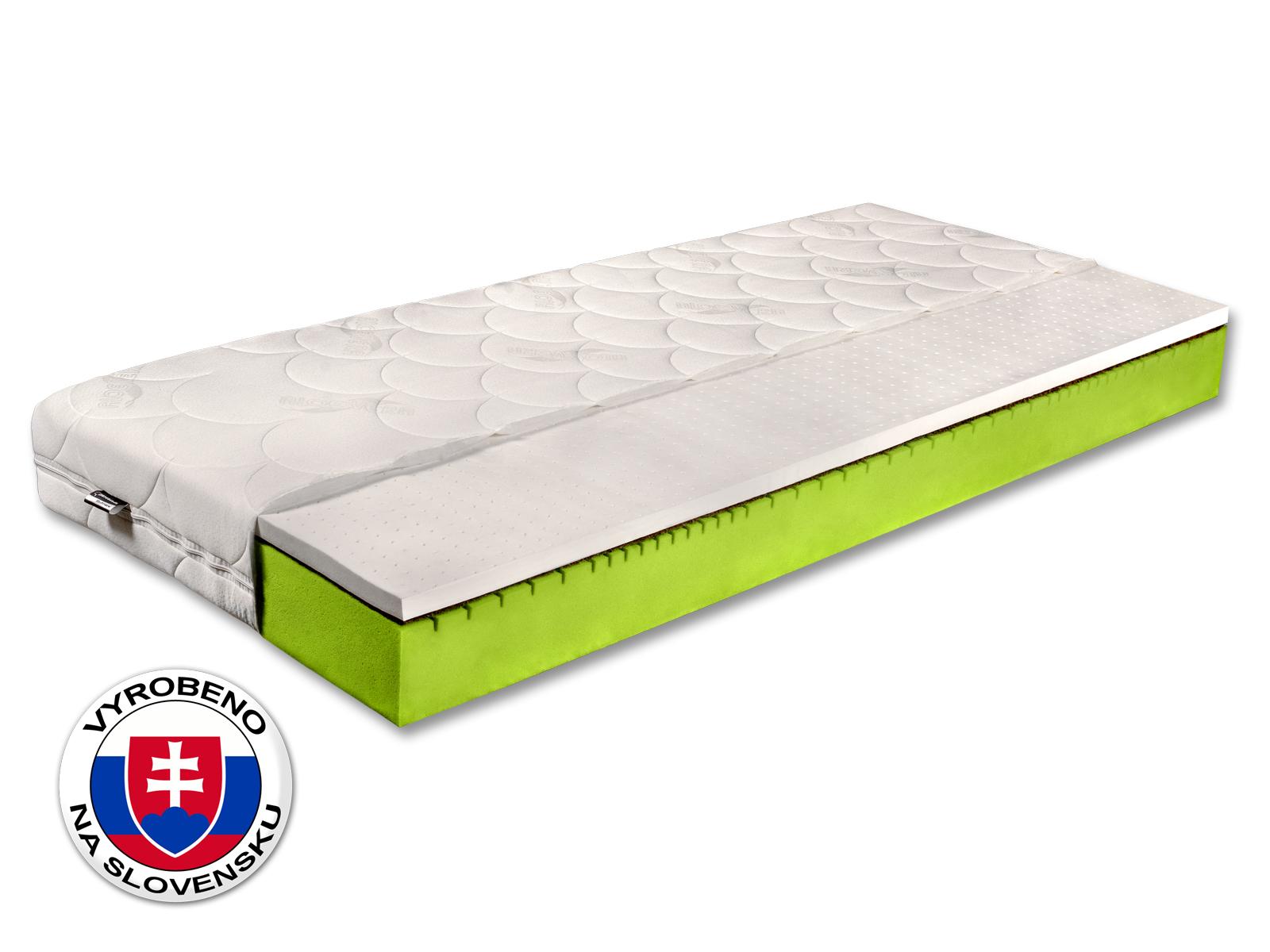 Pěnová matrace - Benab - Natural - 200x80 cm (T3/T4). Prodyšná, anatomická, oboustranná matrace z vysoce pružné BIO studené pěny, s přírodní kokosovou deskou, pro nejnáročnější. Vyrobená na Slovensku.