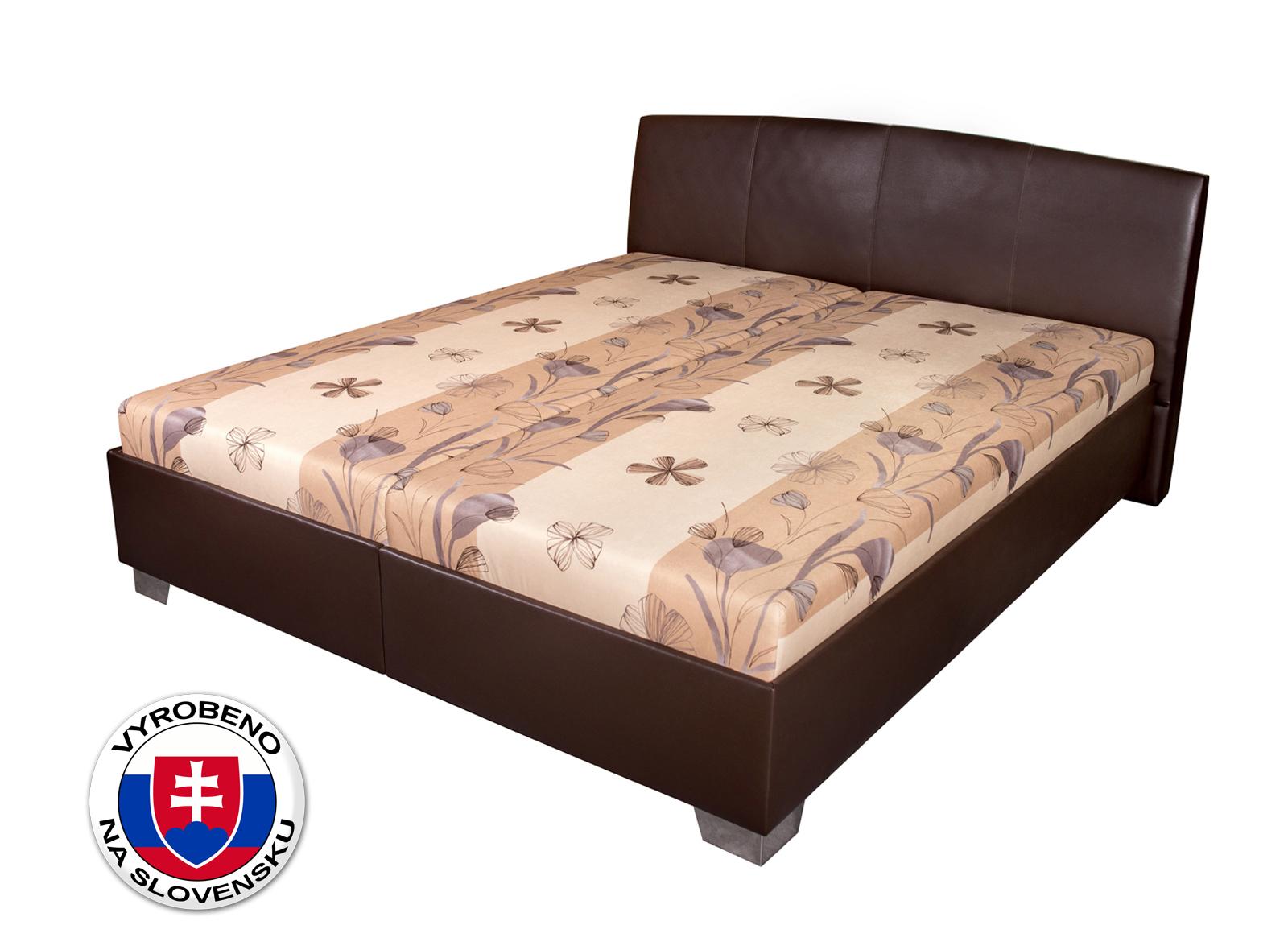 Manželská postel 170 cm - Benab - Tamira Simple (s rošty a matracemi)