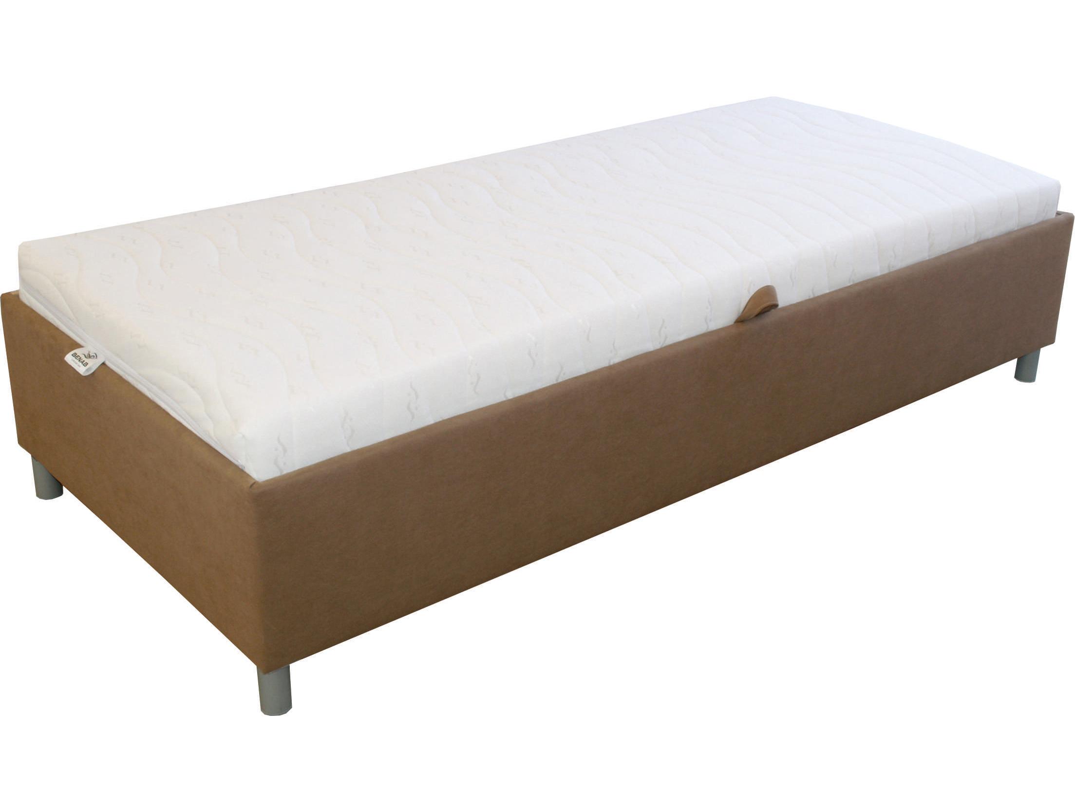 Jednolůžková postel 90 cm - Benab - Hills (s roštem)