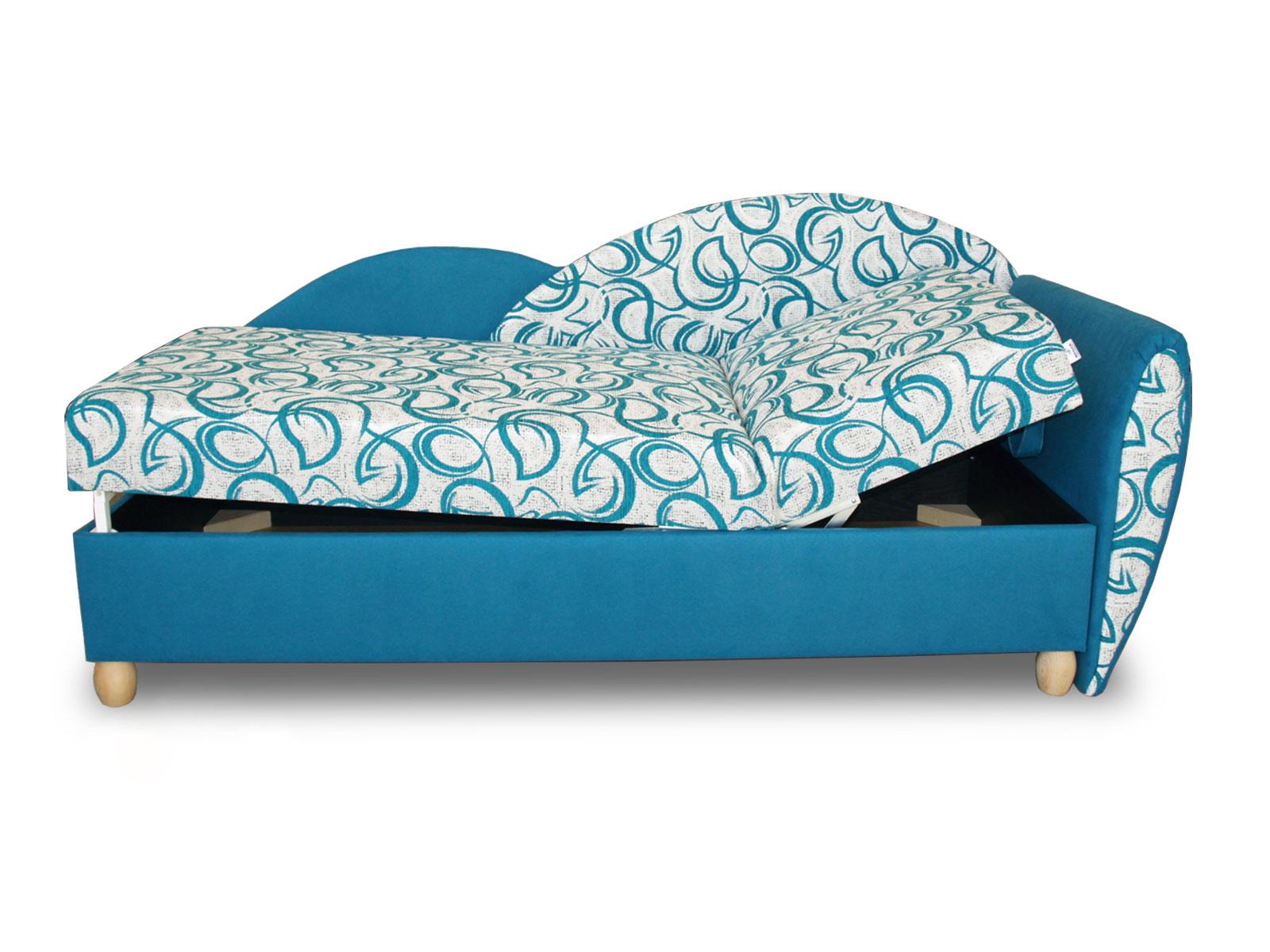 Jednolůžková postel (válenda) 80 cm - Benab - Relax plus (s rošty a matracemi)