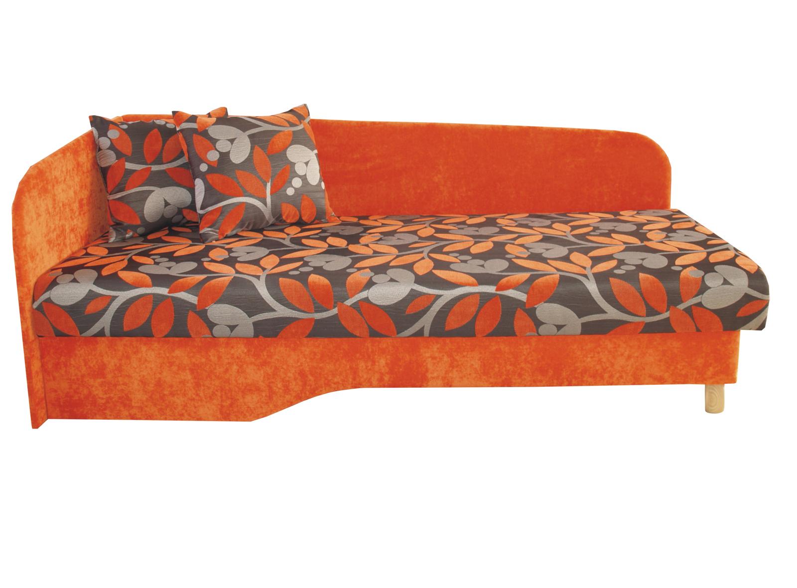 Jednolůžková postel (válenda) 194 cm - Benab - Joka plus (L) (s roštem a matrací)