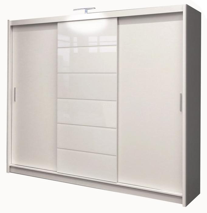 Šatní skříň - Casarredo - Malibu bílá