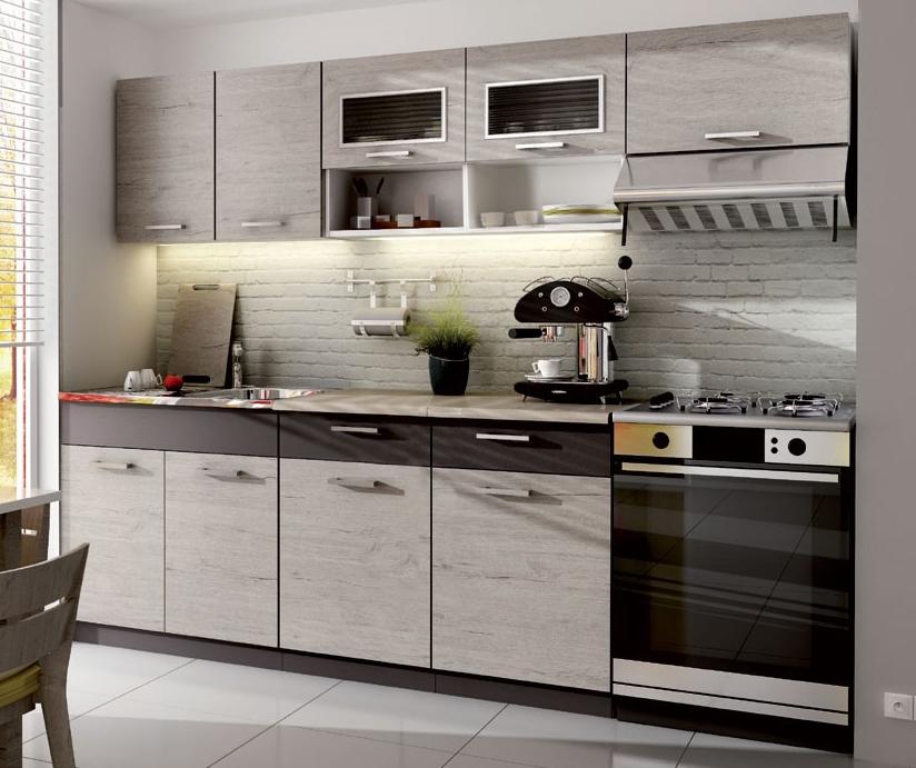 Kuchyně - Casarredo - Moreno II 240 cm (picard)