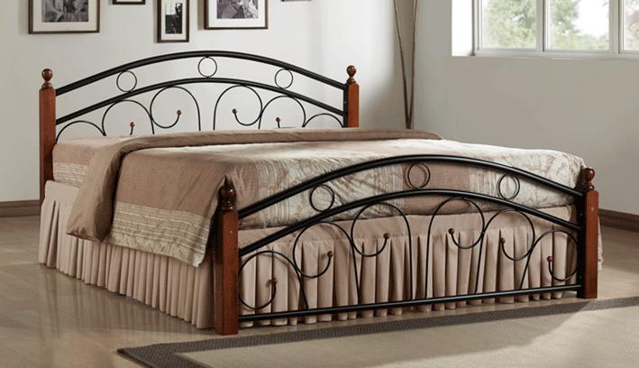 Manželská postel 180 cm - Casarredo - Paris (s roštem)
