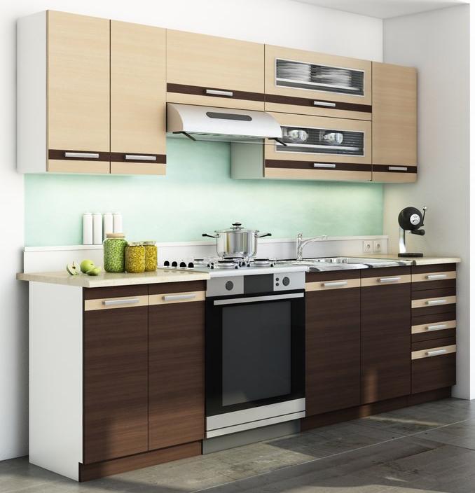 Kuchyně - Casarredo - DARK LATTE BIS 240 cm